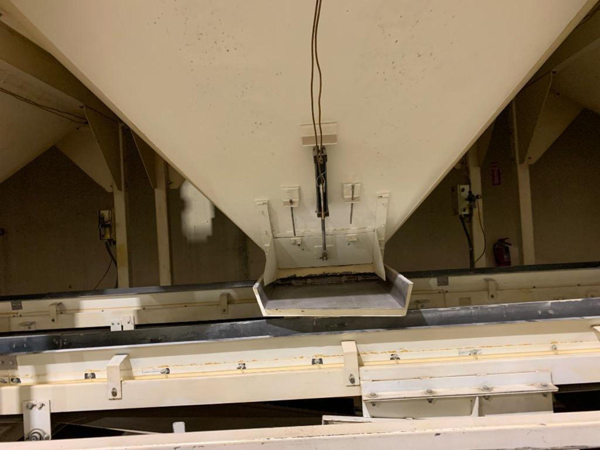 Aseeco mild steel cone bottom bulk storage bin - Image 5 of 22