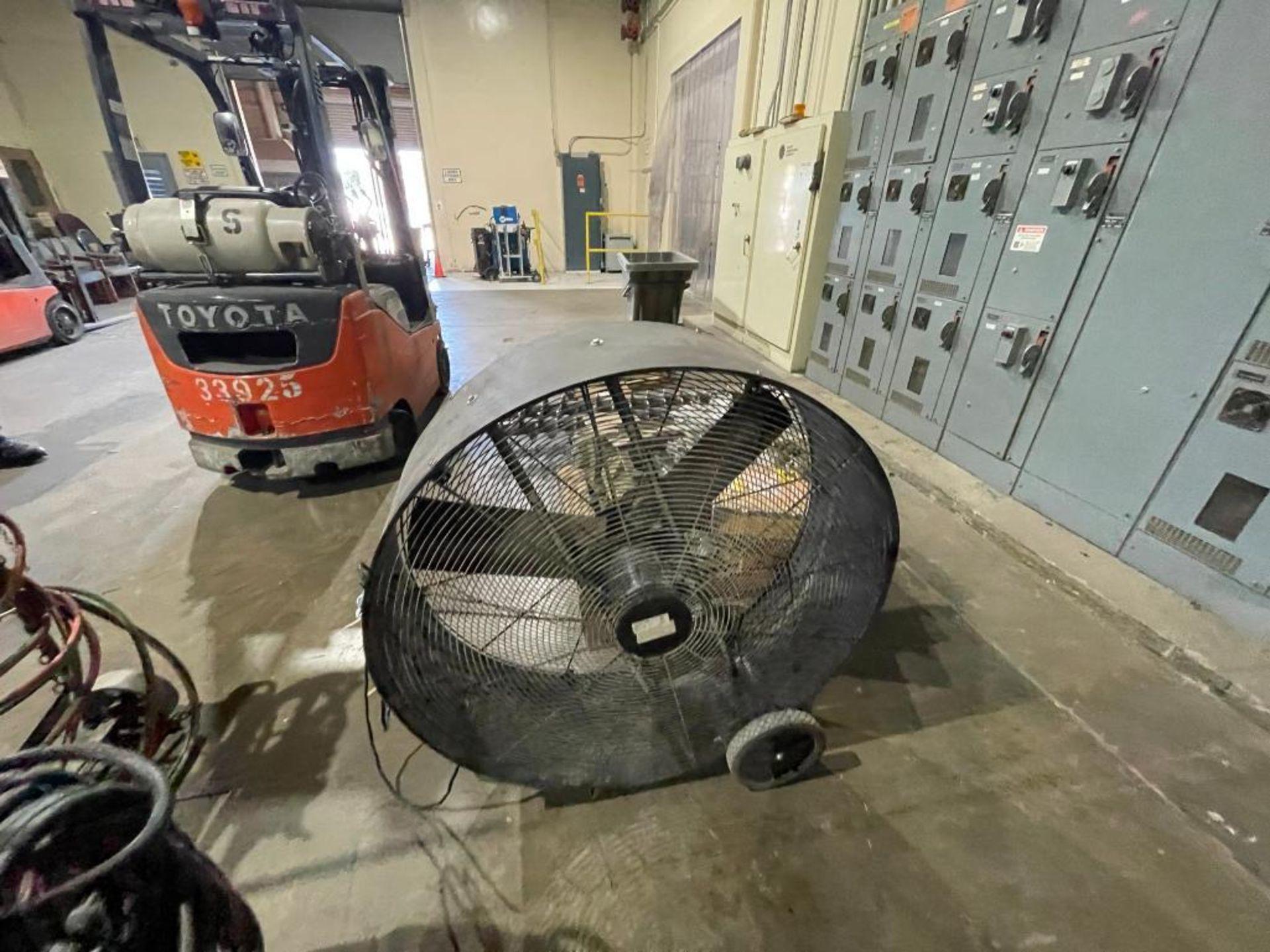 TPI 42 in. floor fan