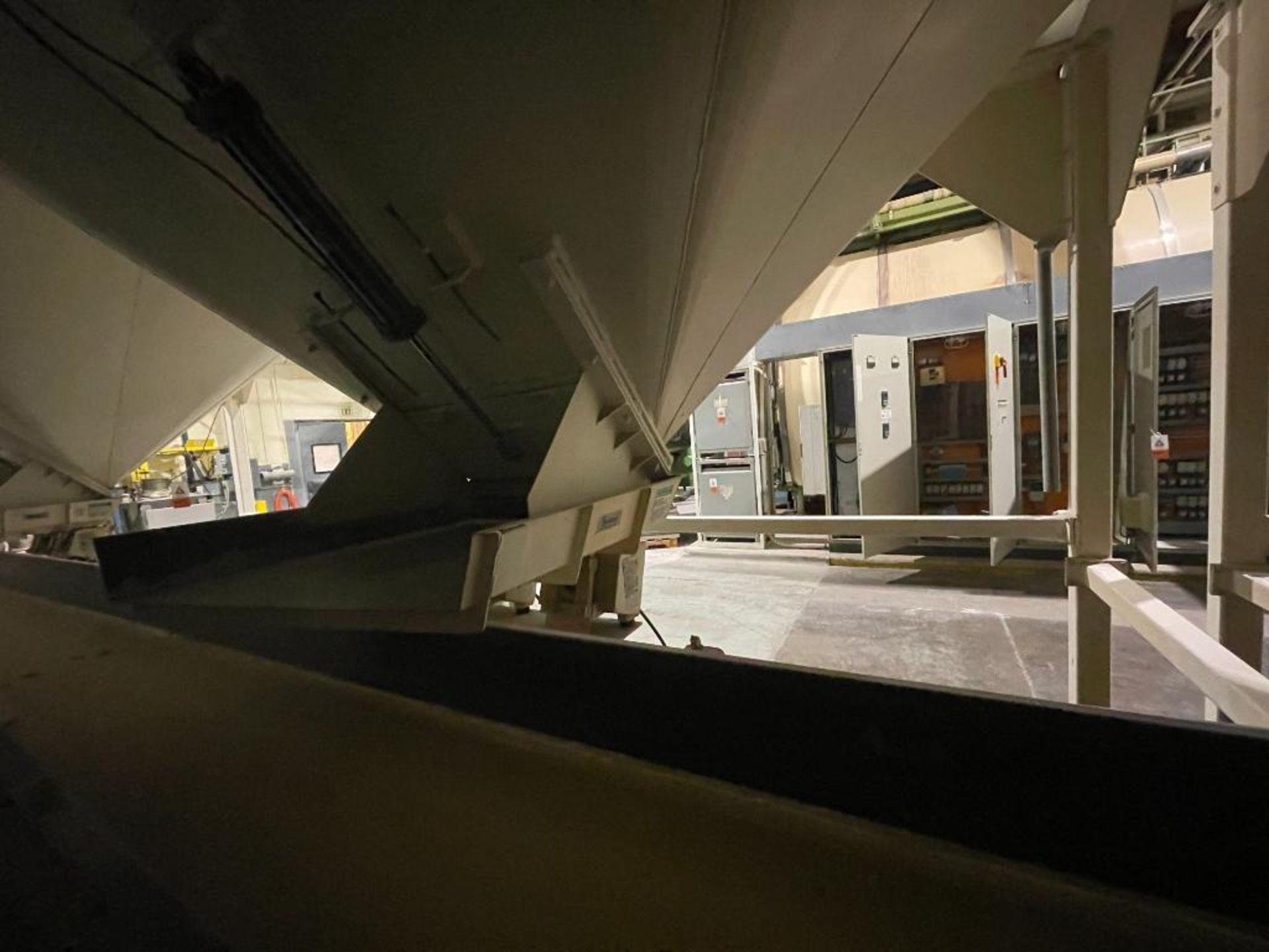 Aseeco mild steel cone bottom bulk storage bin - Image 20 of 31