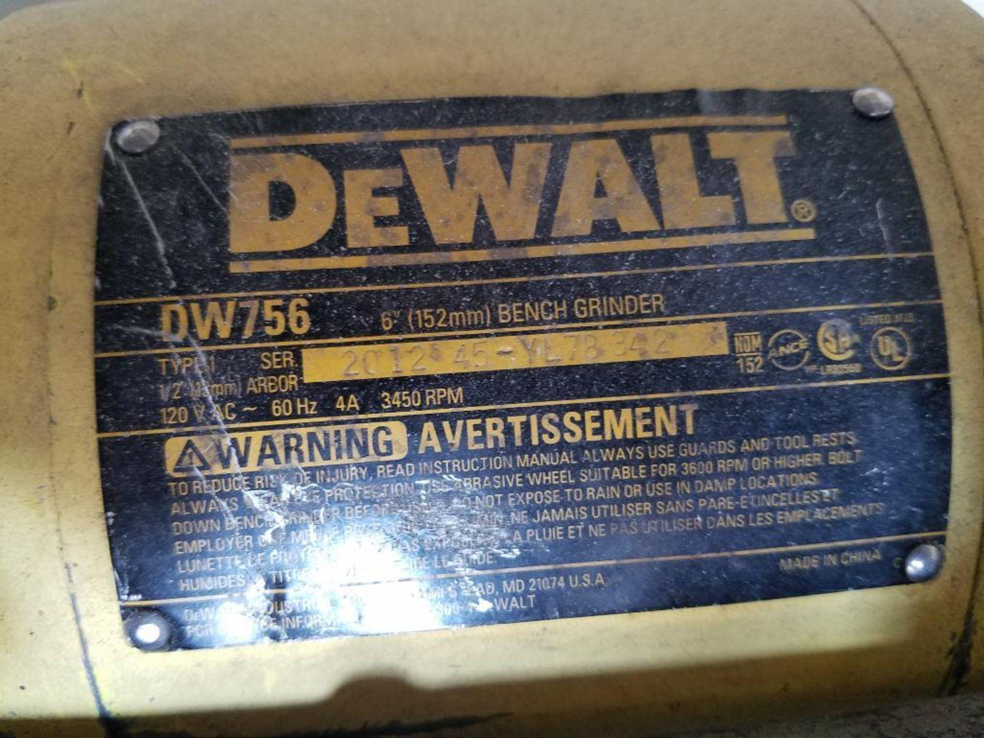 DeWalt double arbor pedestal grinder - Image 3 of 3
