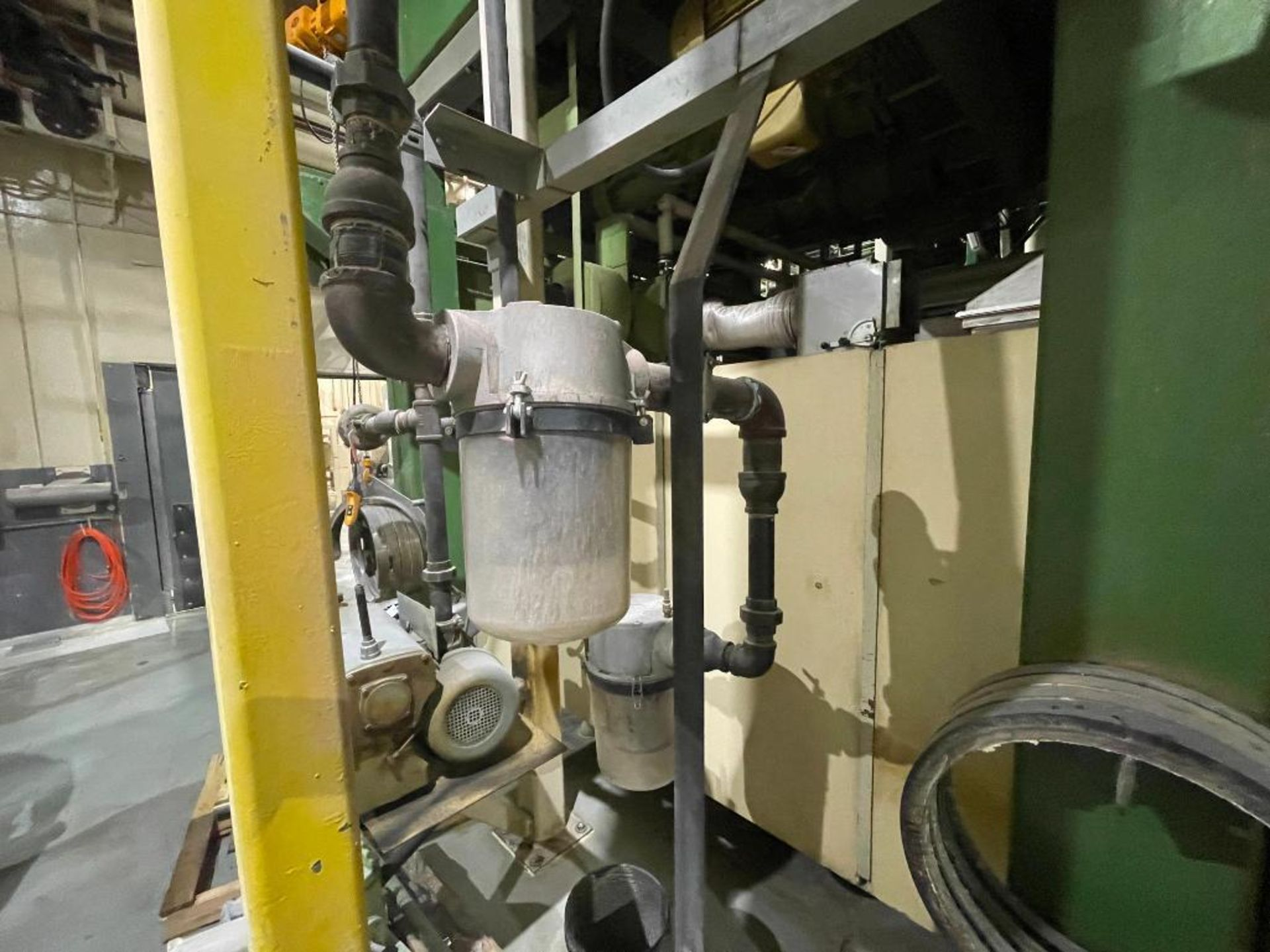 Busch single stage rotary vacuum pump - Image 9 of 14