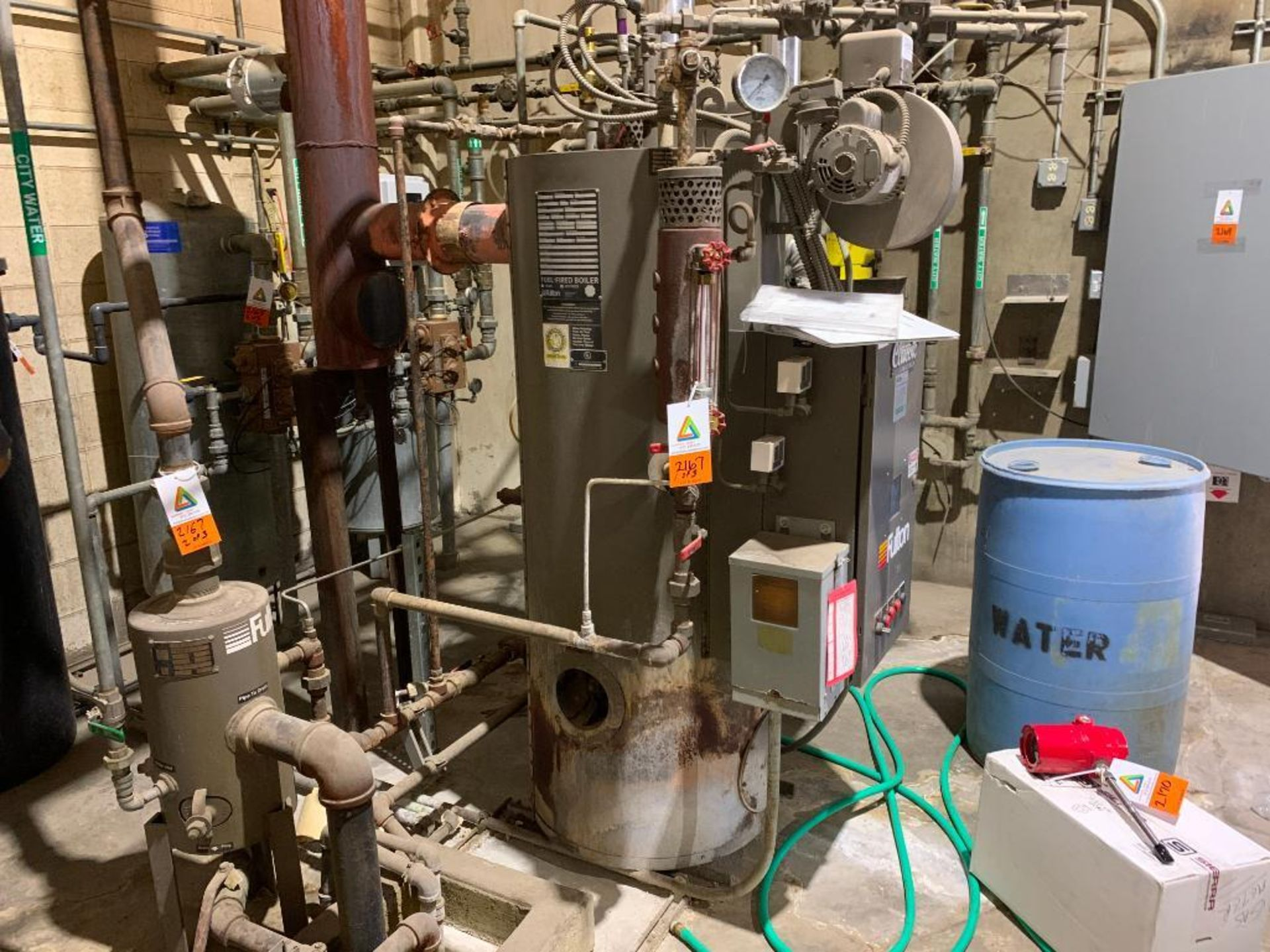 2014 Fulton steam boiler