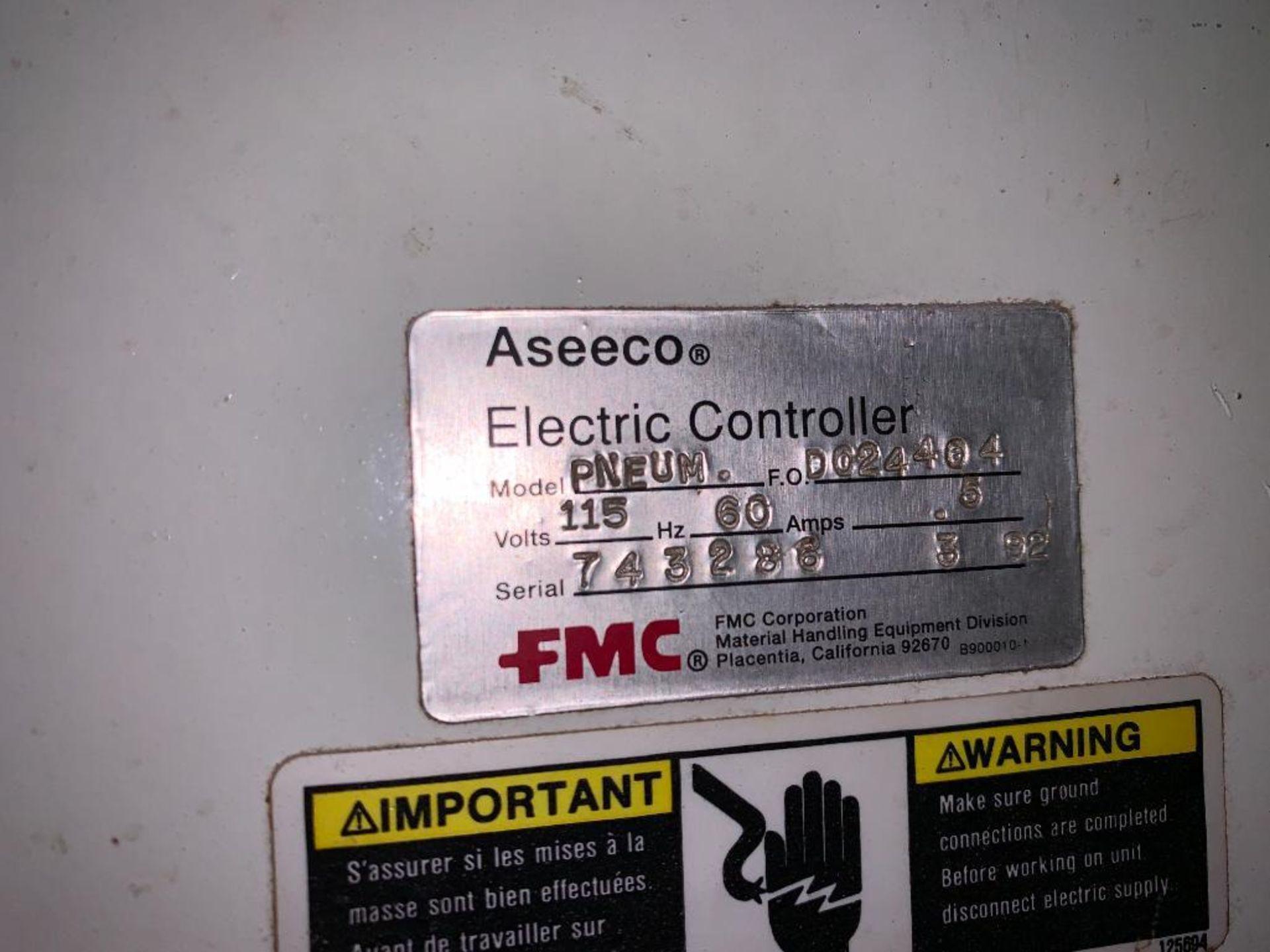 Aseeco mild steel cone bottom bulk storage bin - Image 19 of 22