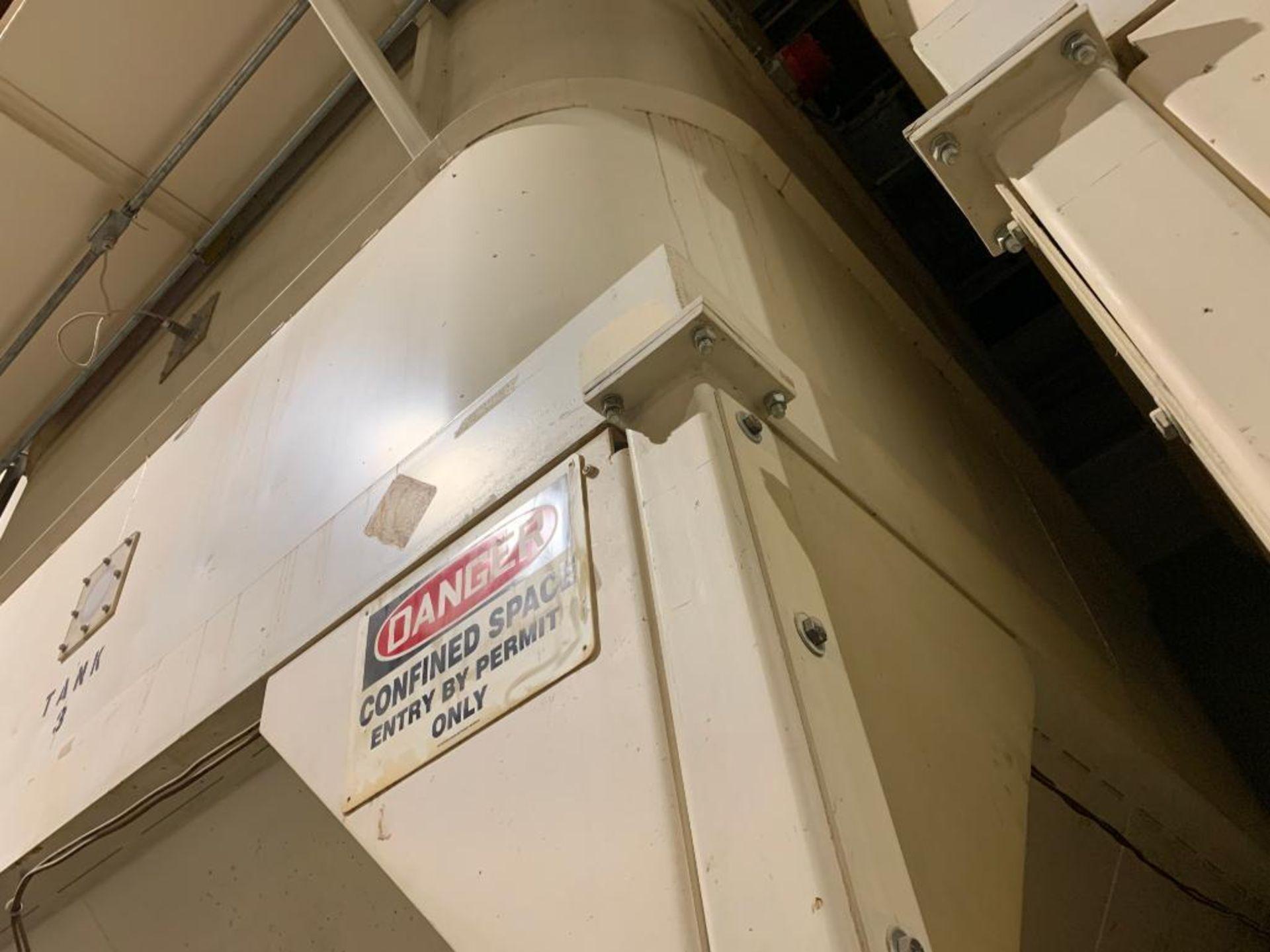 Aseeco mild steel cone bottom bulk storage bin - Image 15 of 22