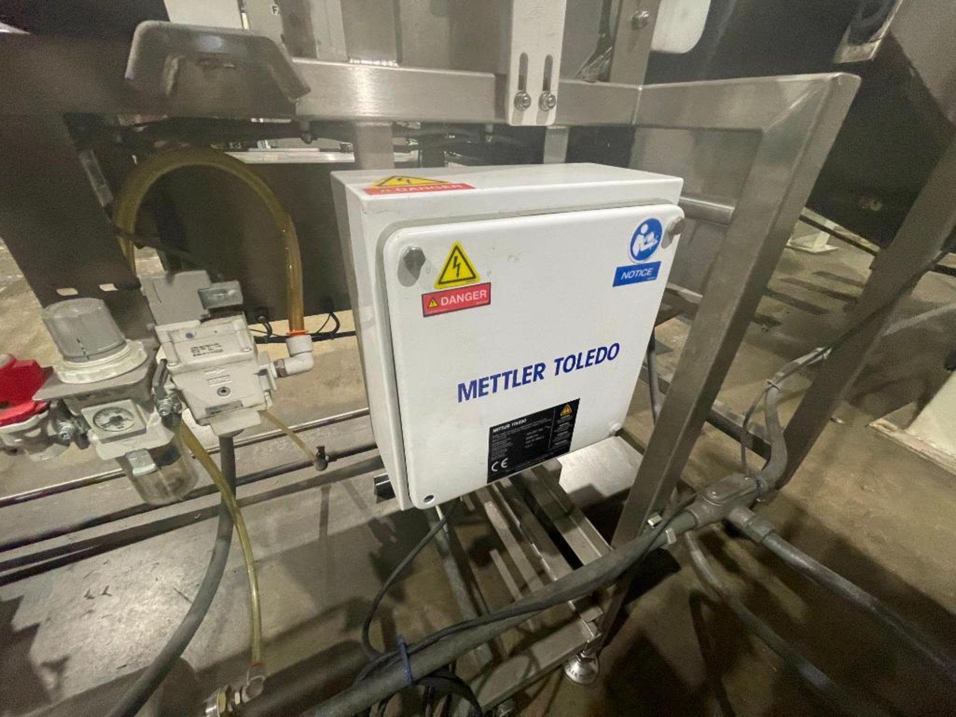 2016 Mettler Toledo metal detector, model SL1500 - Image 8 of 12