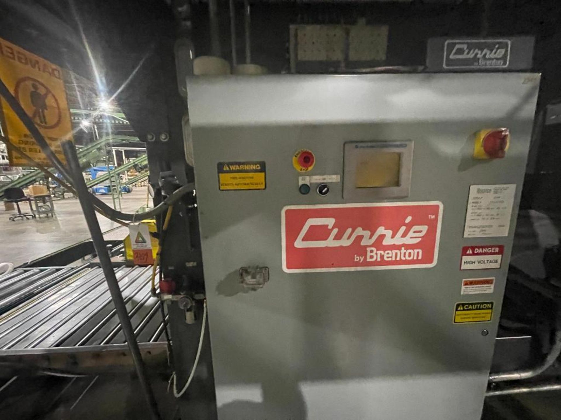 2008 Currie top to bottom palletizer, model PALLETIZER, sn 3348 - Image 14 of 28