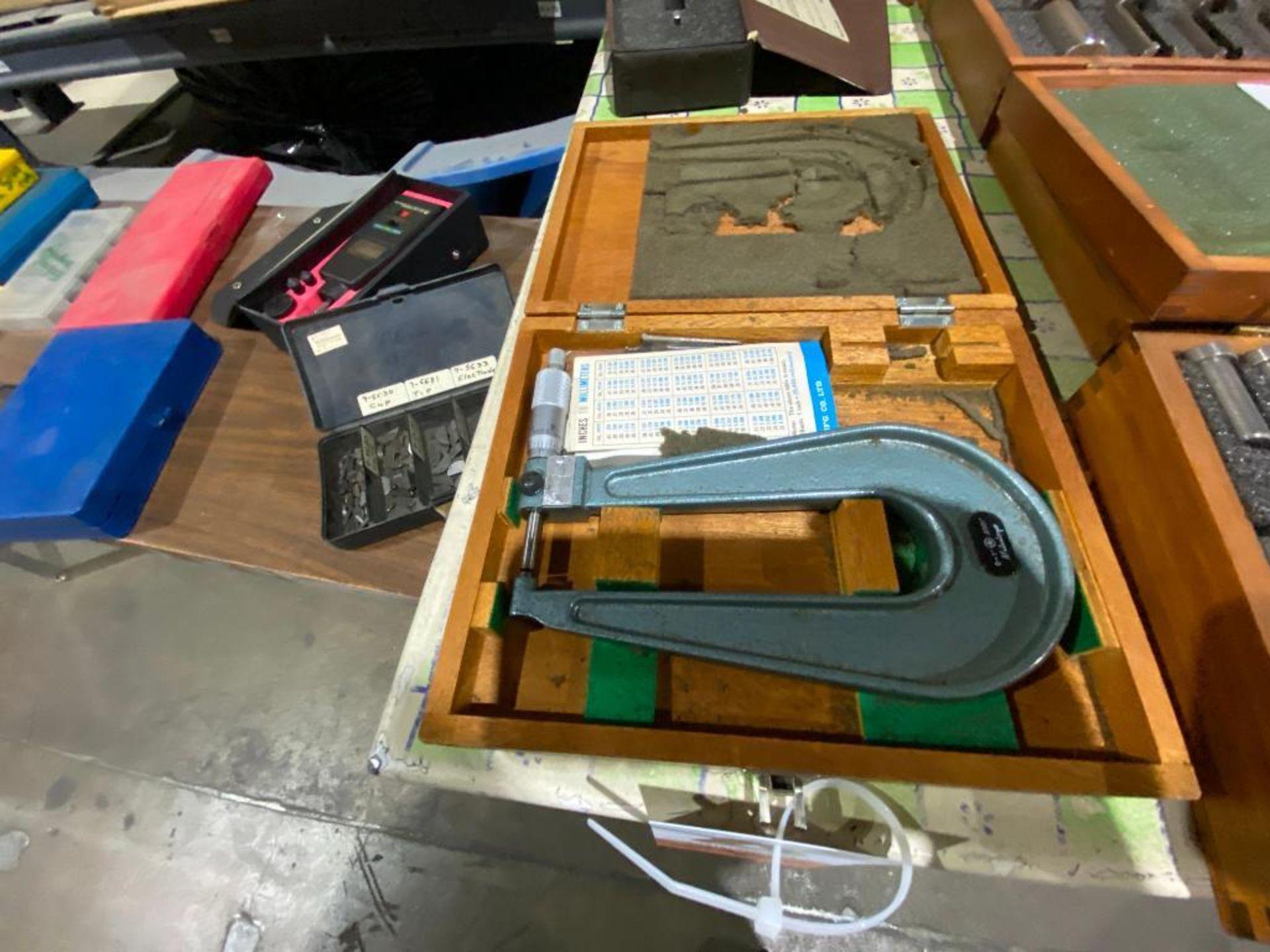 Mitutoyo analog micrometer