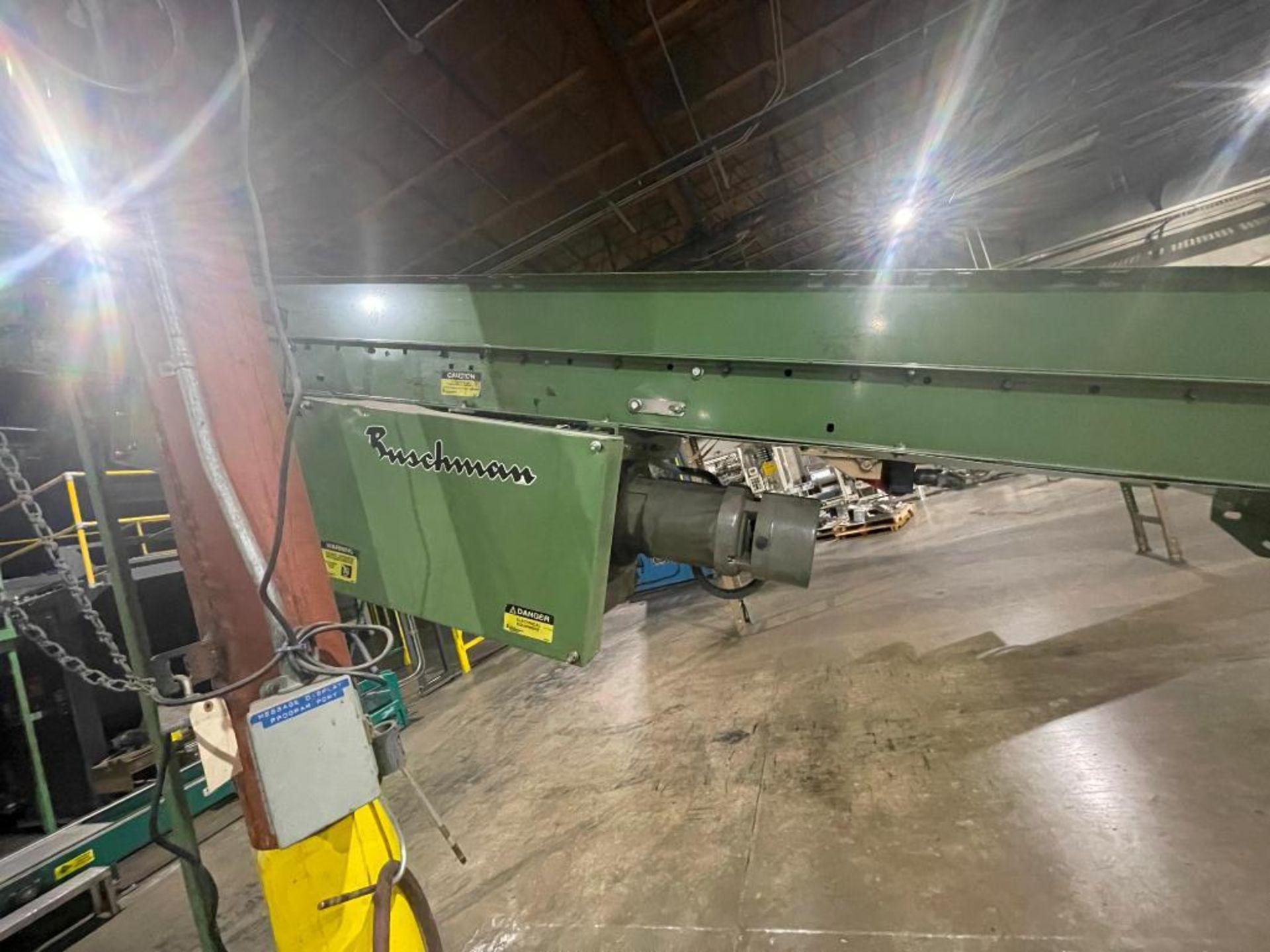 Buschman mild steel incline conveyor - Image 3 of 15