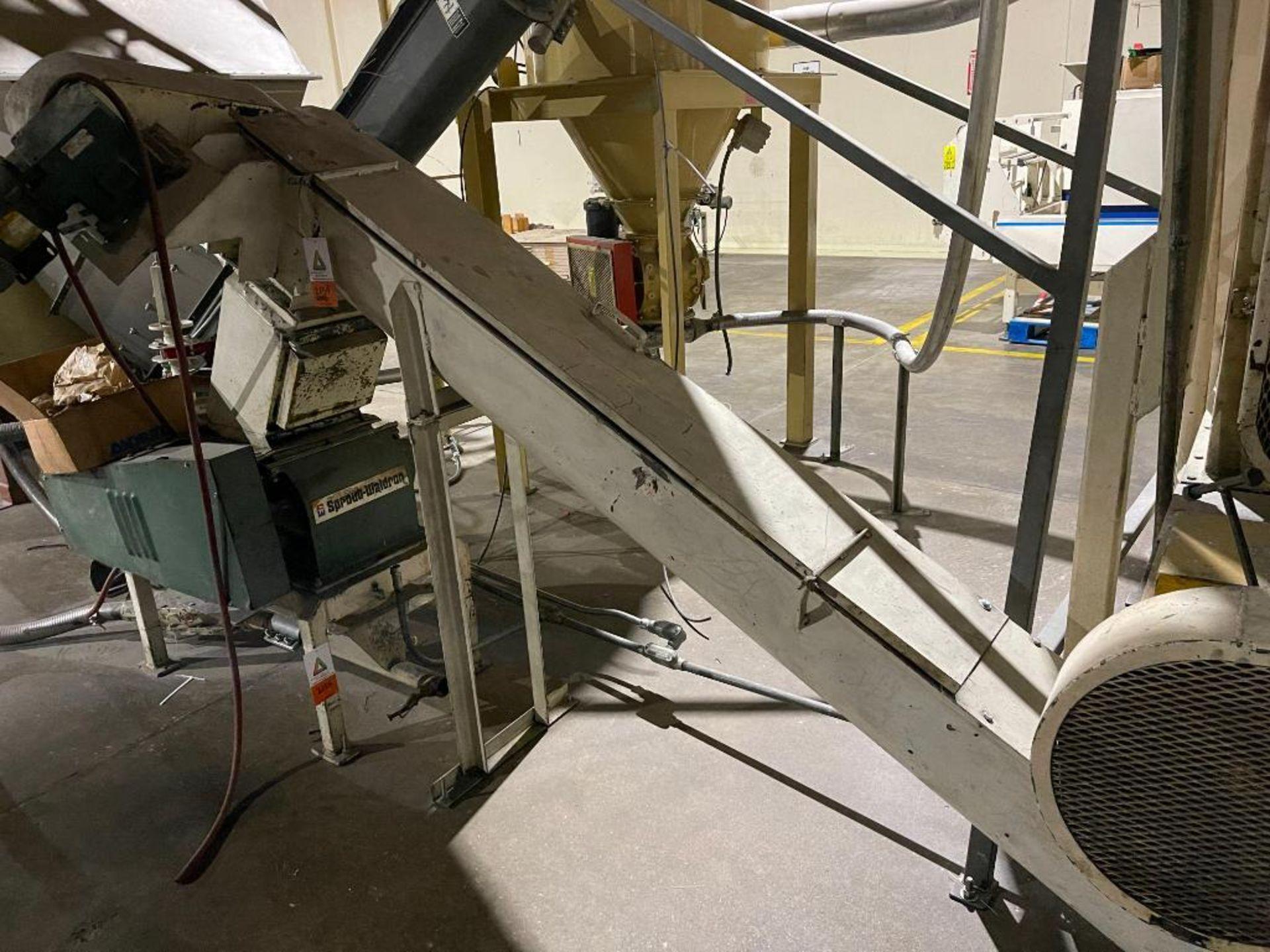 incline screw auger