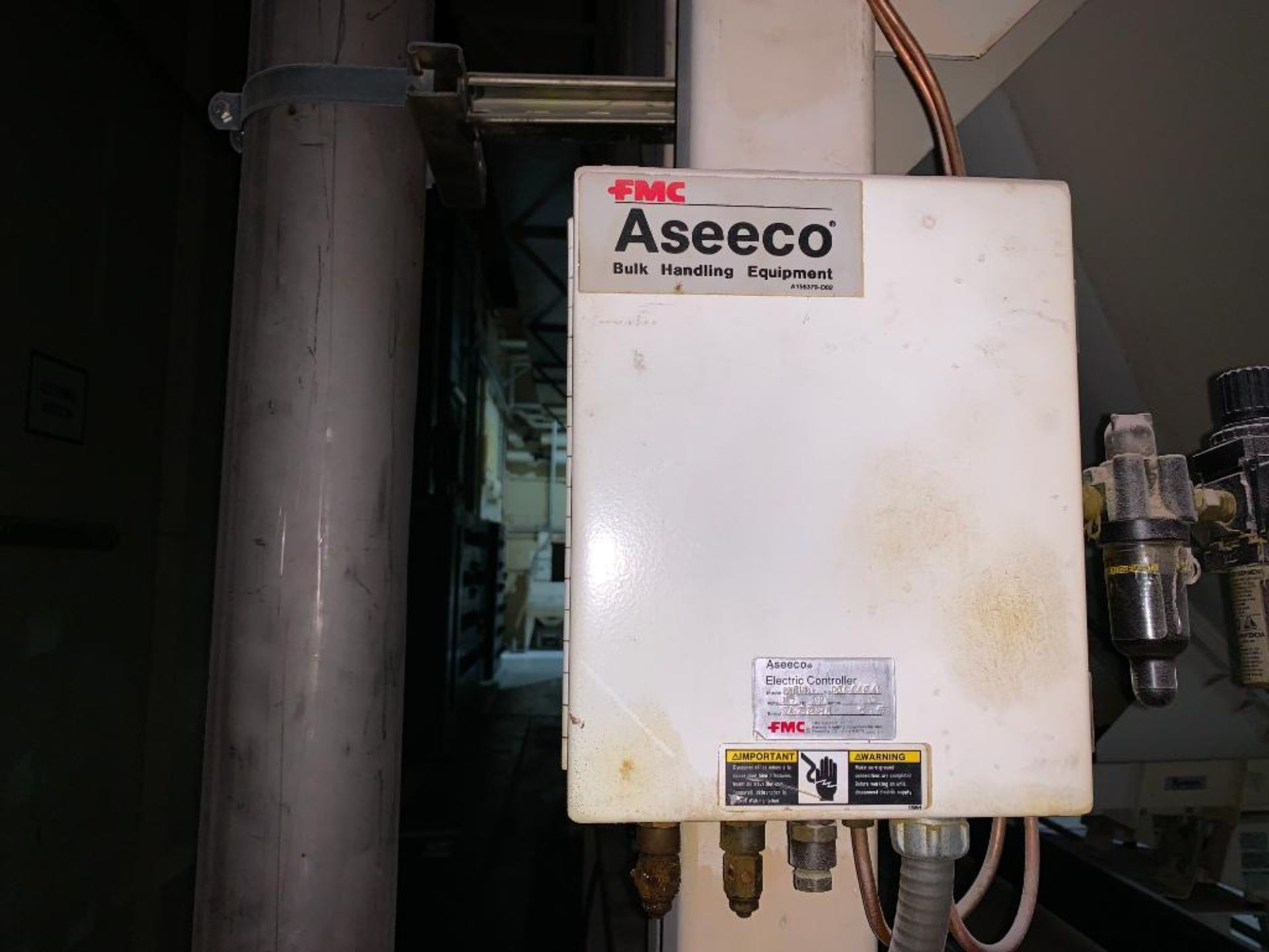 Aseeco mild steel cone bottom bulk storage bin - Image 18 of 19