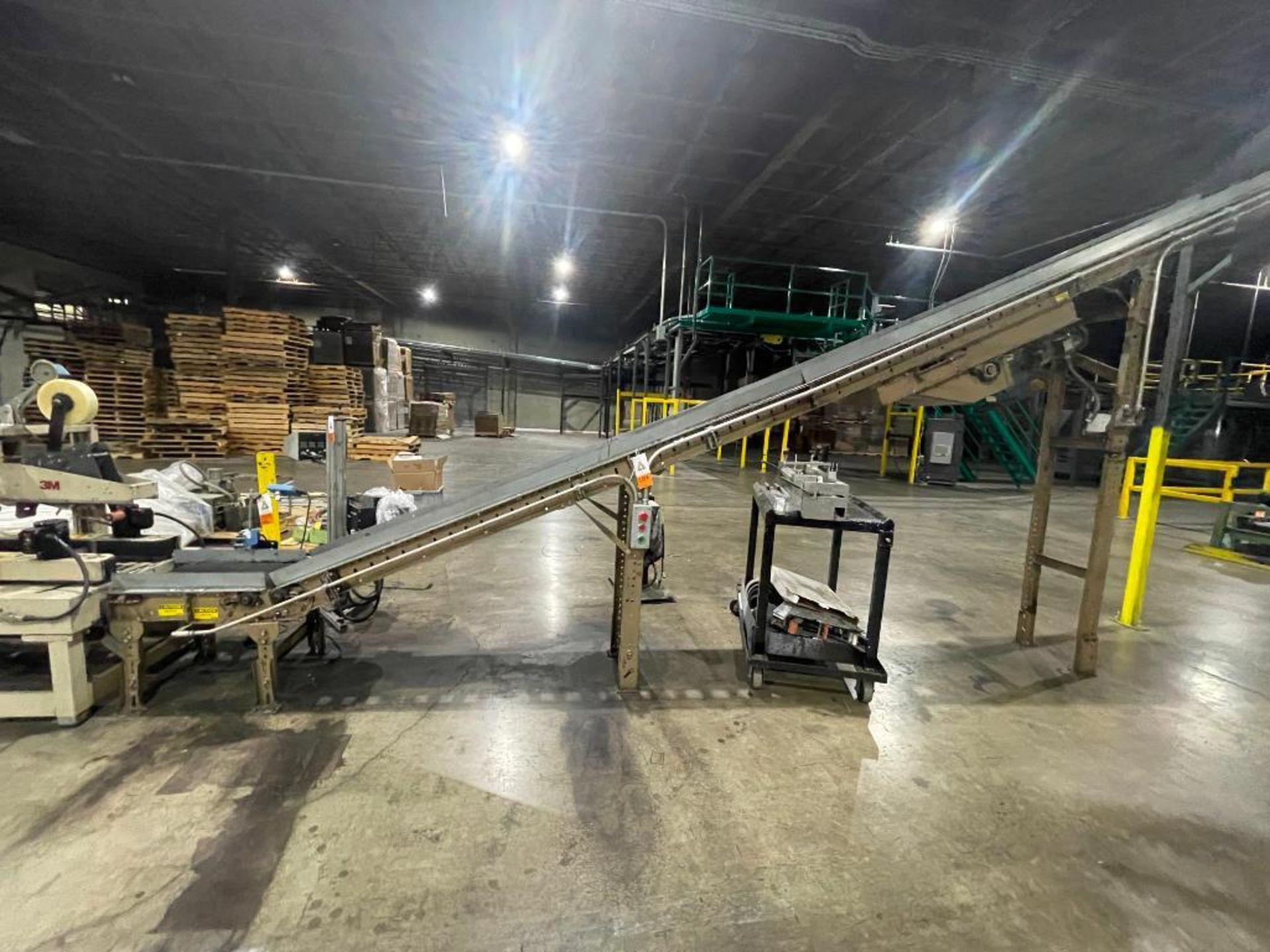 Buschman mild steel incline conveyor - Image 2 of 11