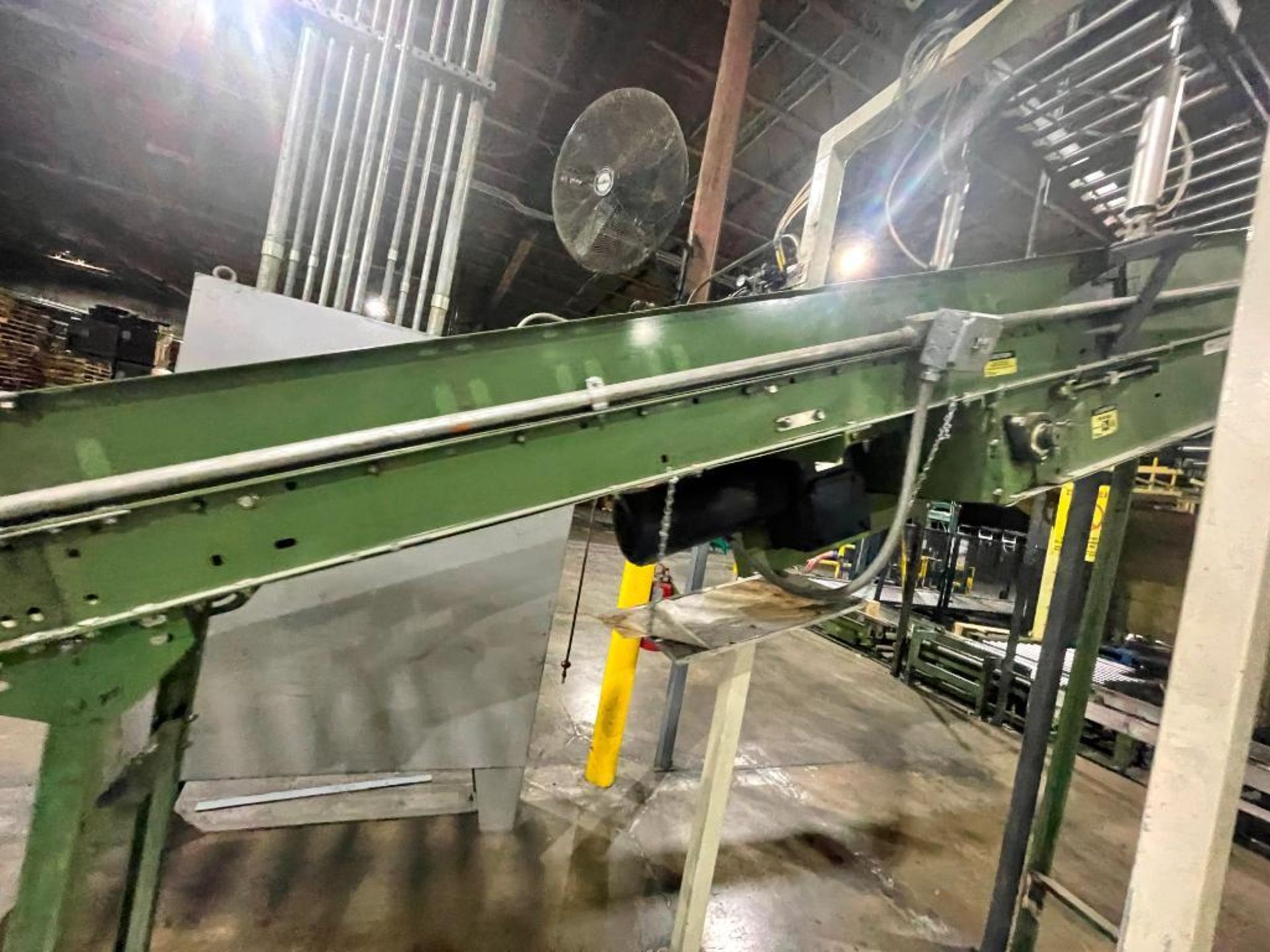 Buschman mild steel incline conveyor - Image 4 of 17