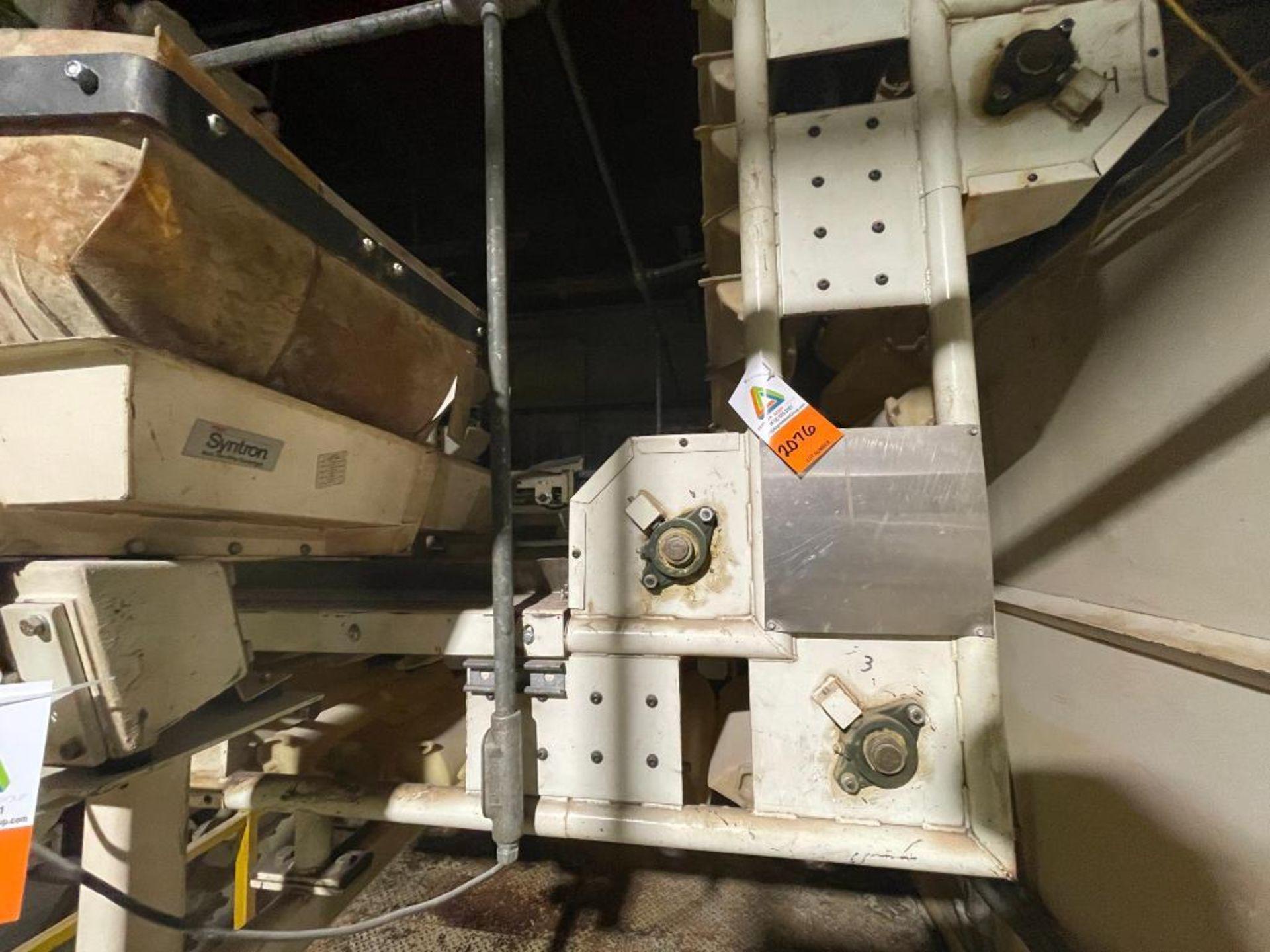 Aseeco horizontal overlapping bucket elevator