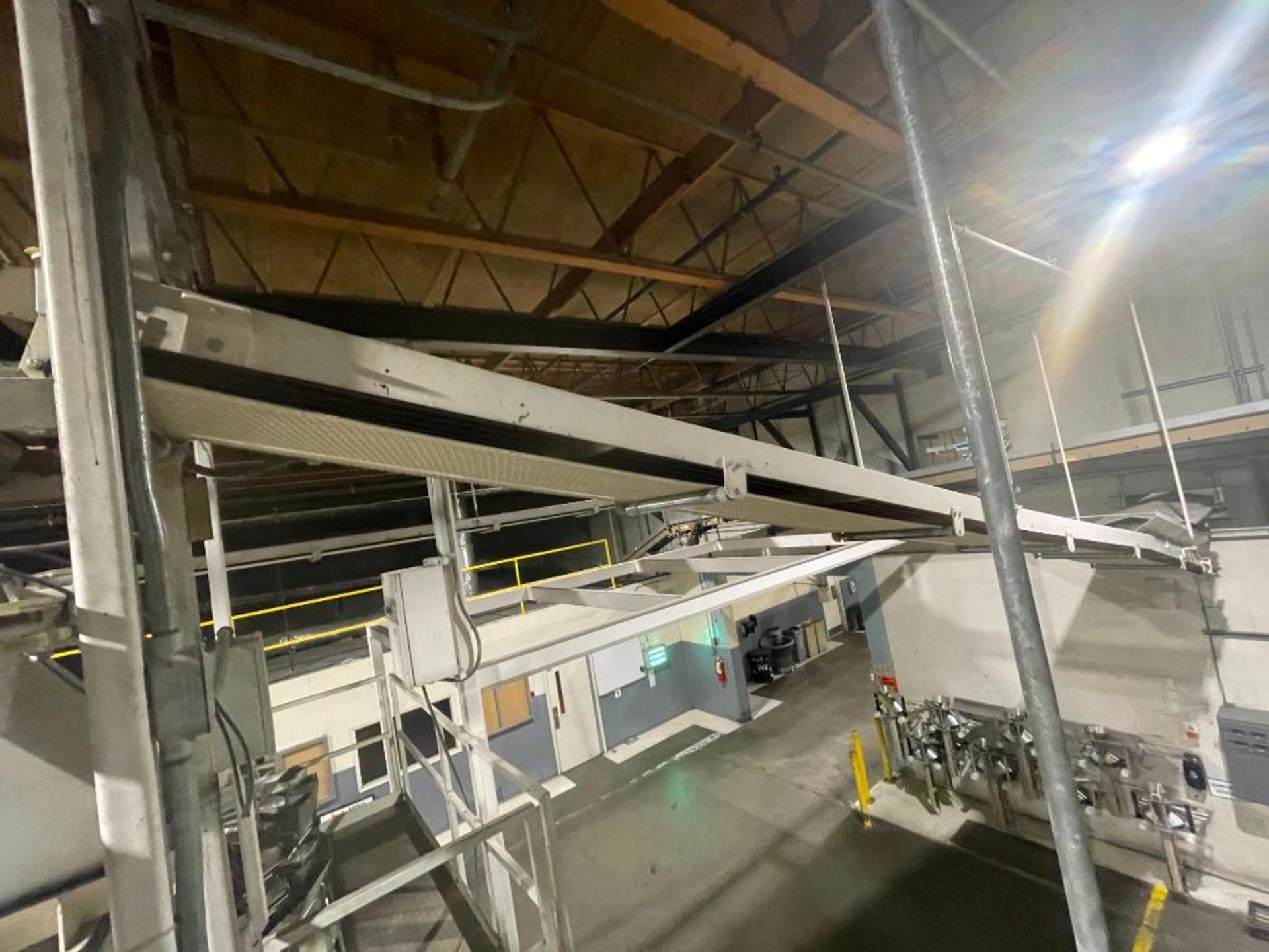 mild steel overhead belt conveyor - Image 4 of 8
