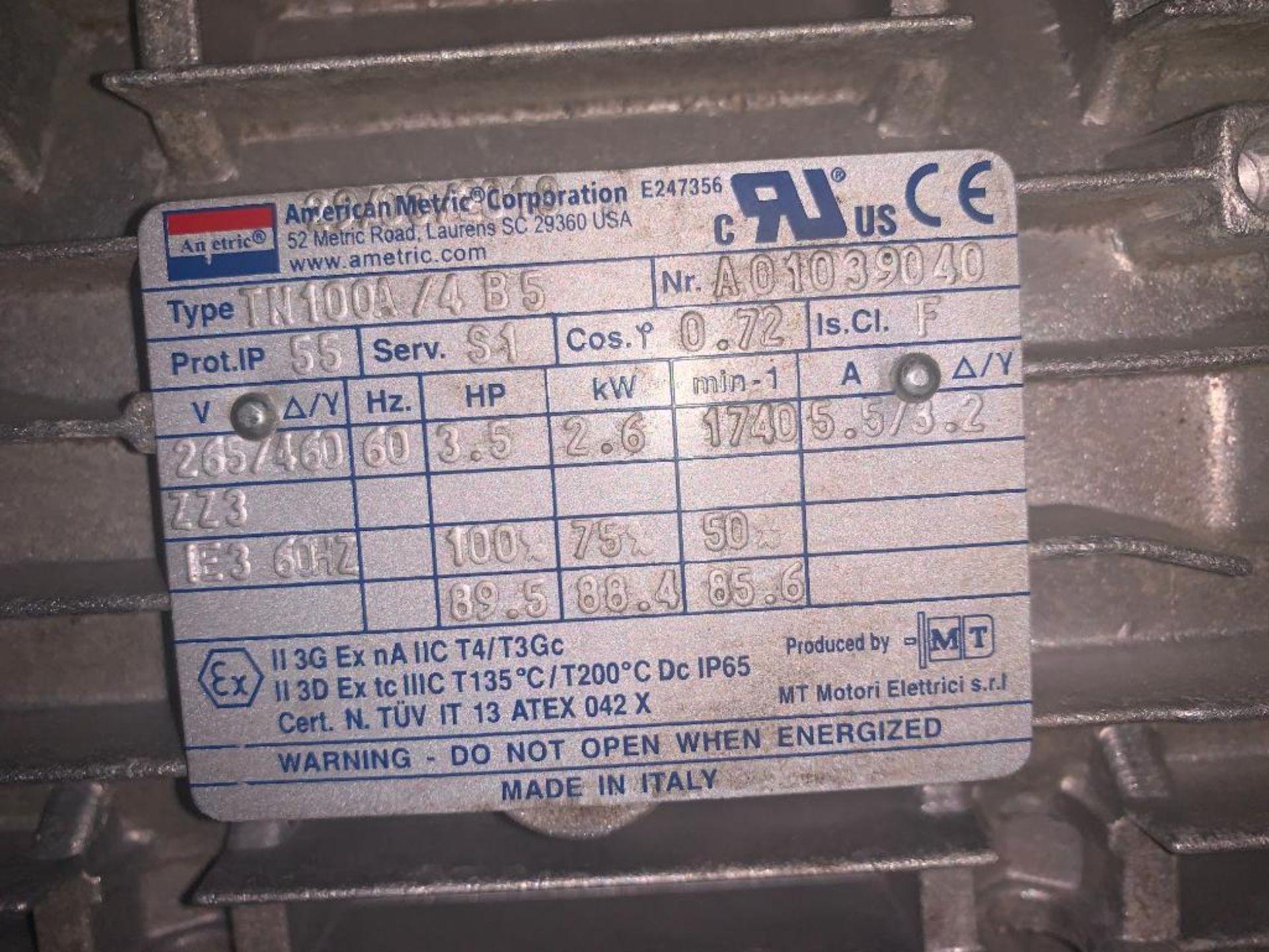 unused dual shaft motor - Image 2 of 4