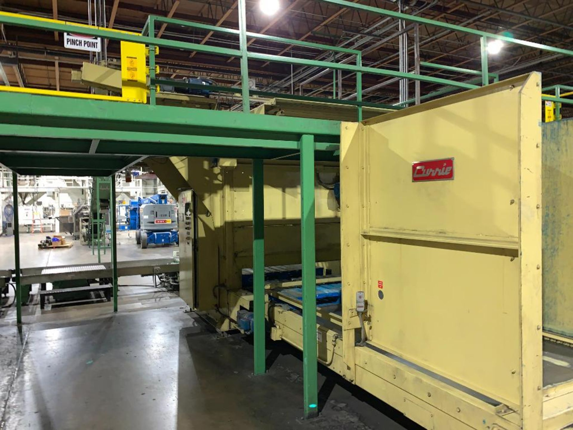 1992 Currie top to bottom palletizer, machine number LSP-5-1177 - Image 16 of 53
