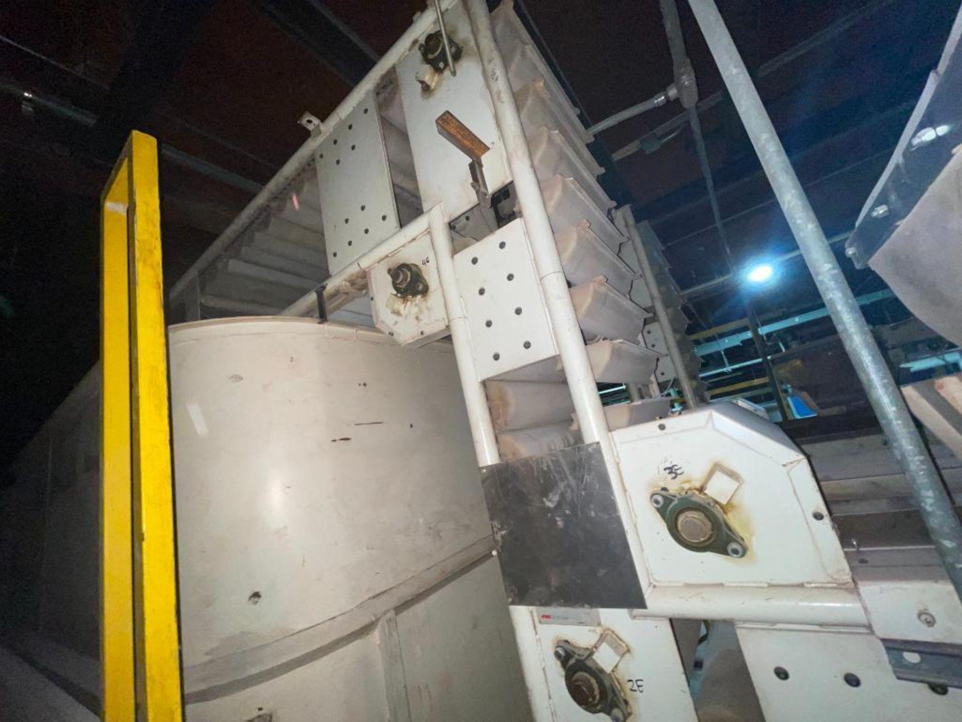Aseeco horizontal overlapping bucket elevator - Image 7 of 10