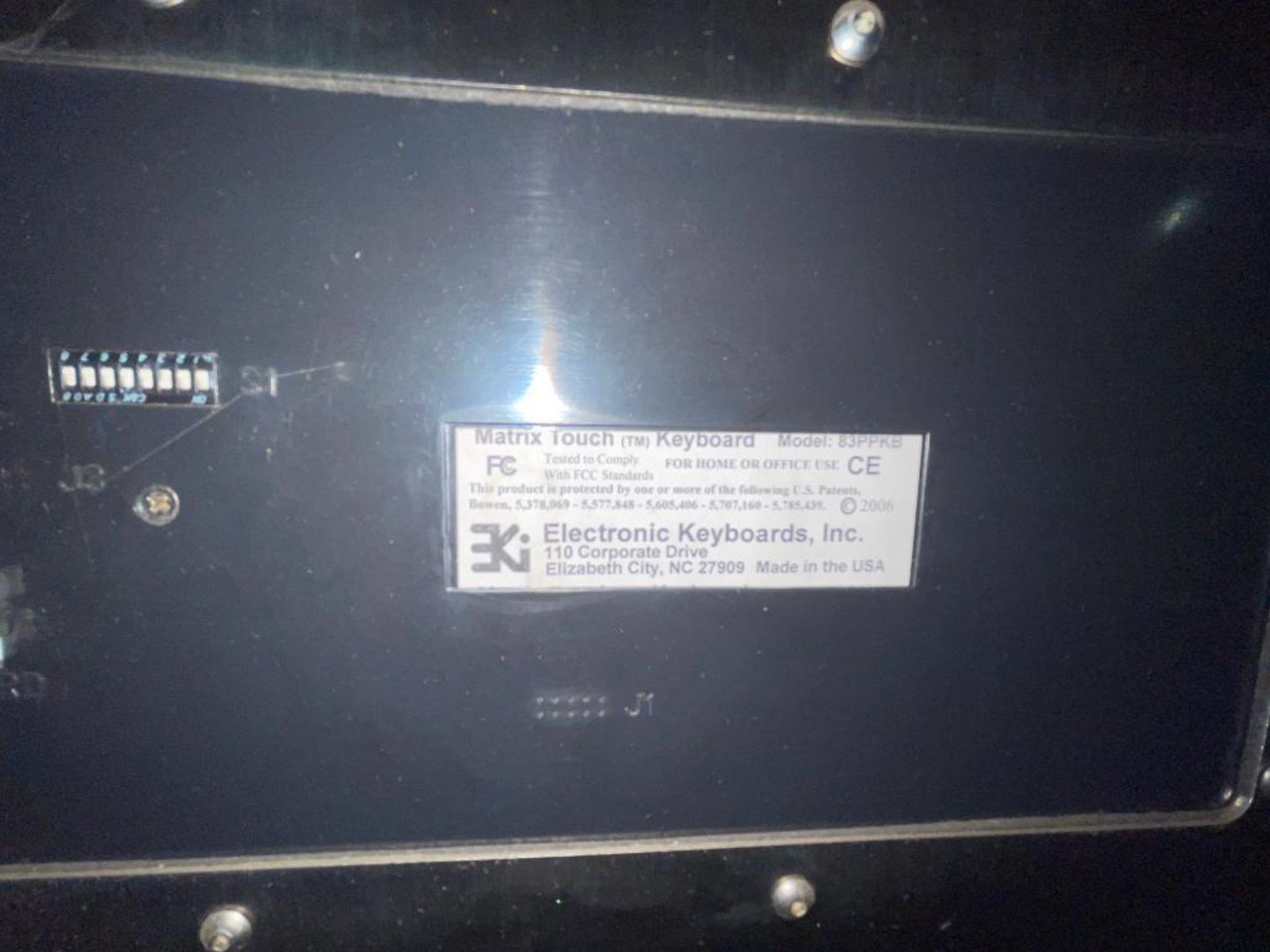 stainless steel pedestal control panel - Image 20 of 20