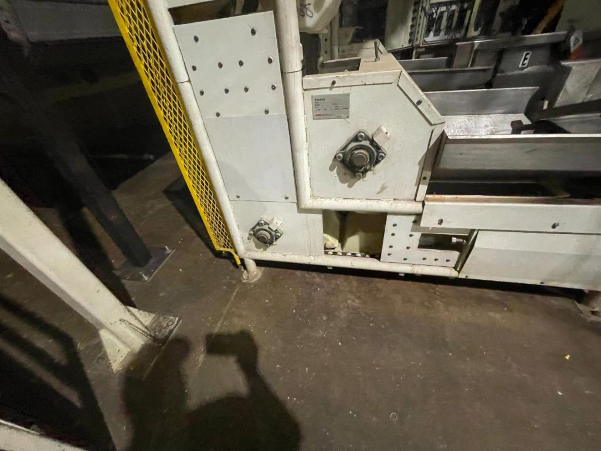 1992 Aseeco overlapping bucket incline conveyor, model ALH-0-12, Z-shape - Image 6 of 11