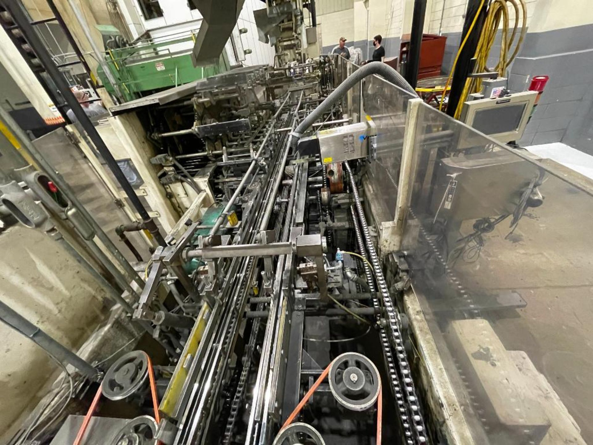 Hayes Machine Co. long goods cartoner, model 51BB - Image 4 of 64
