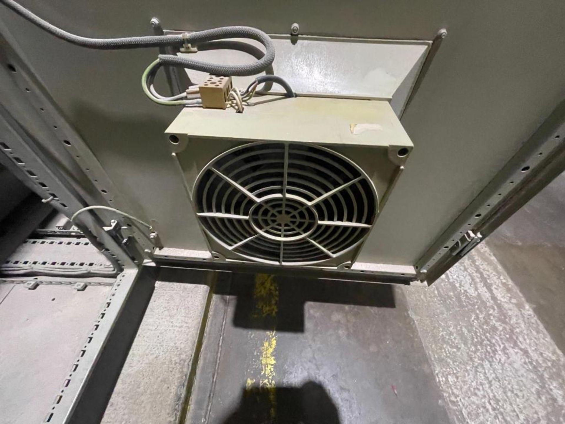 7-door mild steel air conditioned control cabinet, 5-VFD's - Image 35 of 43
