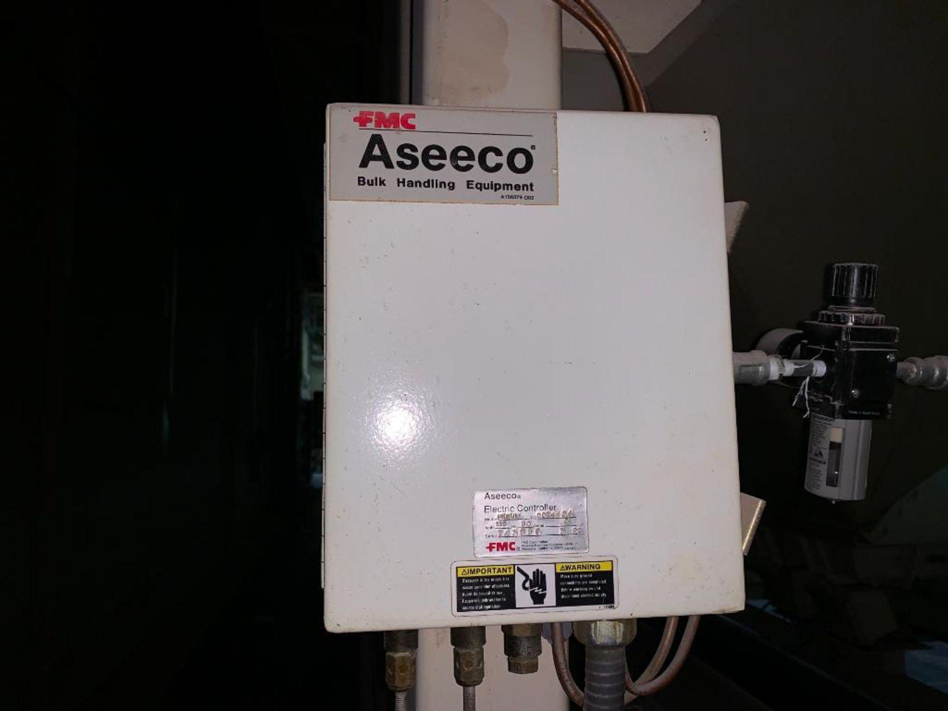 Aseeco mild steel cone bottom bulk storage bin - Image 18 of 22