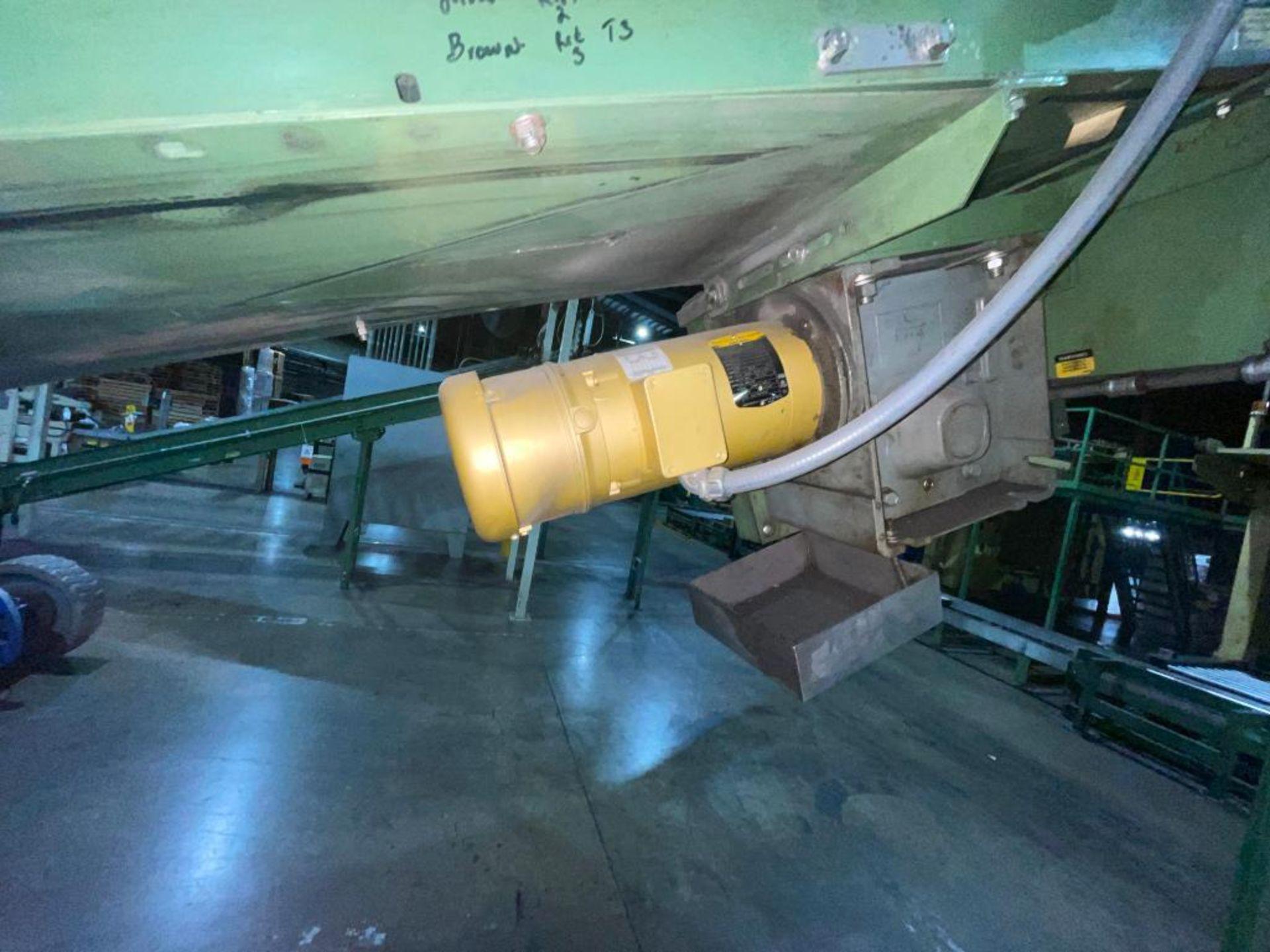 Buschman mild steel incline conveyor - Image 10 of 17