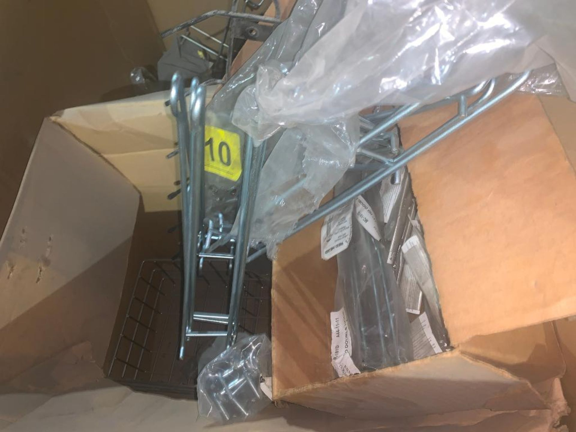 pallet of wire baskets and wire parts - Image 4 of 7