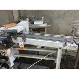 mild steel belt conveyor, 68 in. x 10 in., with box conditioner