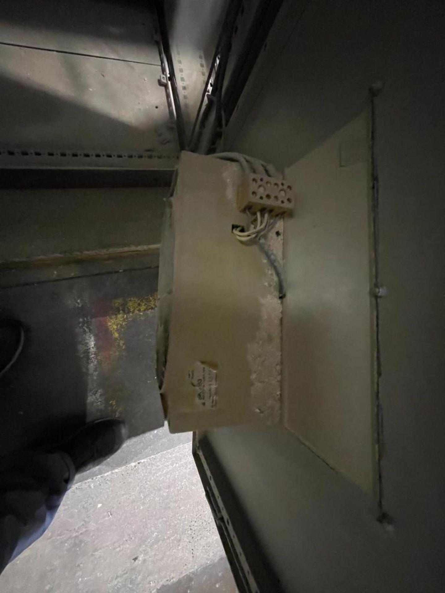 7-door mild steel air conditioned control cabinet, 5-VFD's - Image 17 of 43