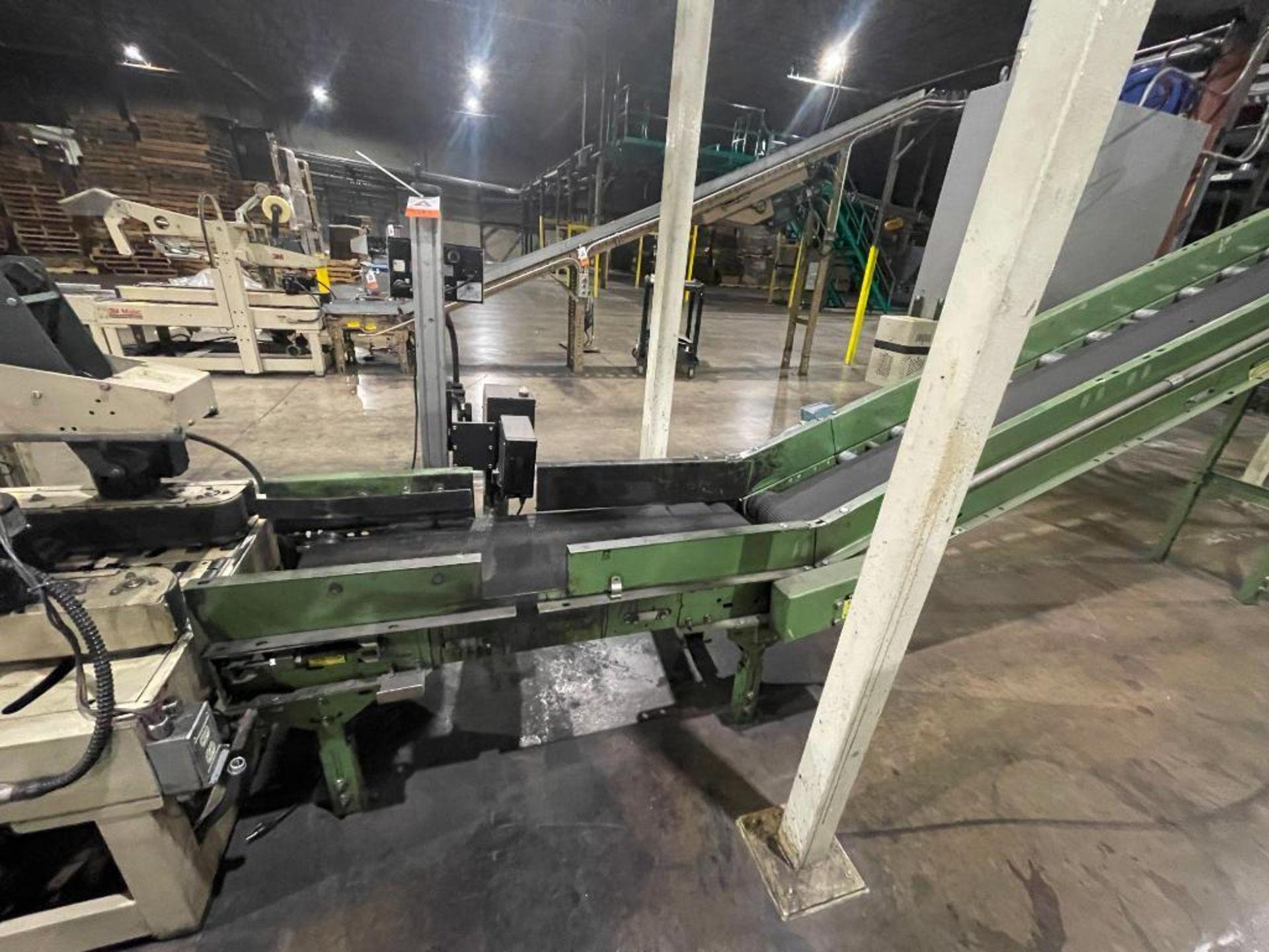 Buschman mild steel incline conveyor - Image 2 of 17