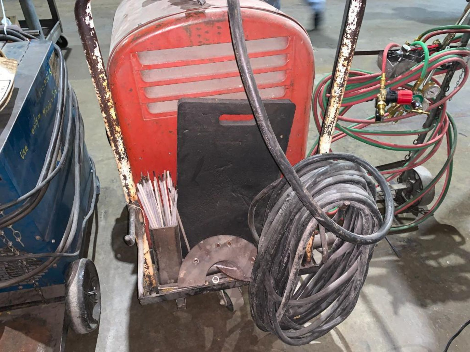 Lincoln Idealarc 250 stick welder - Image 7 of 8