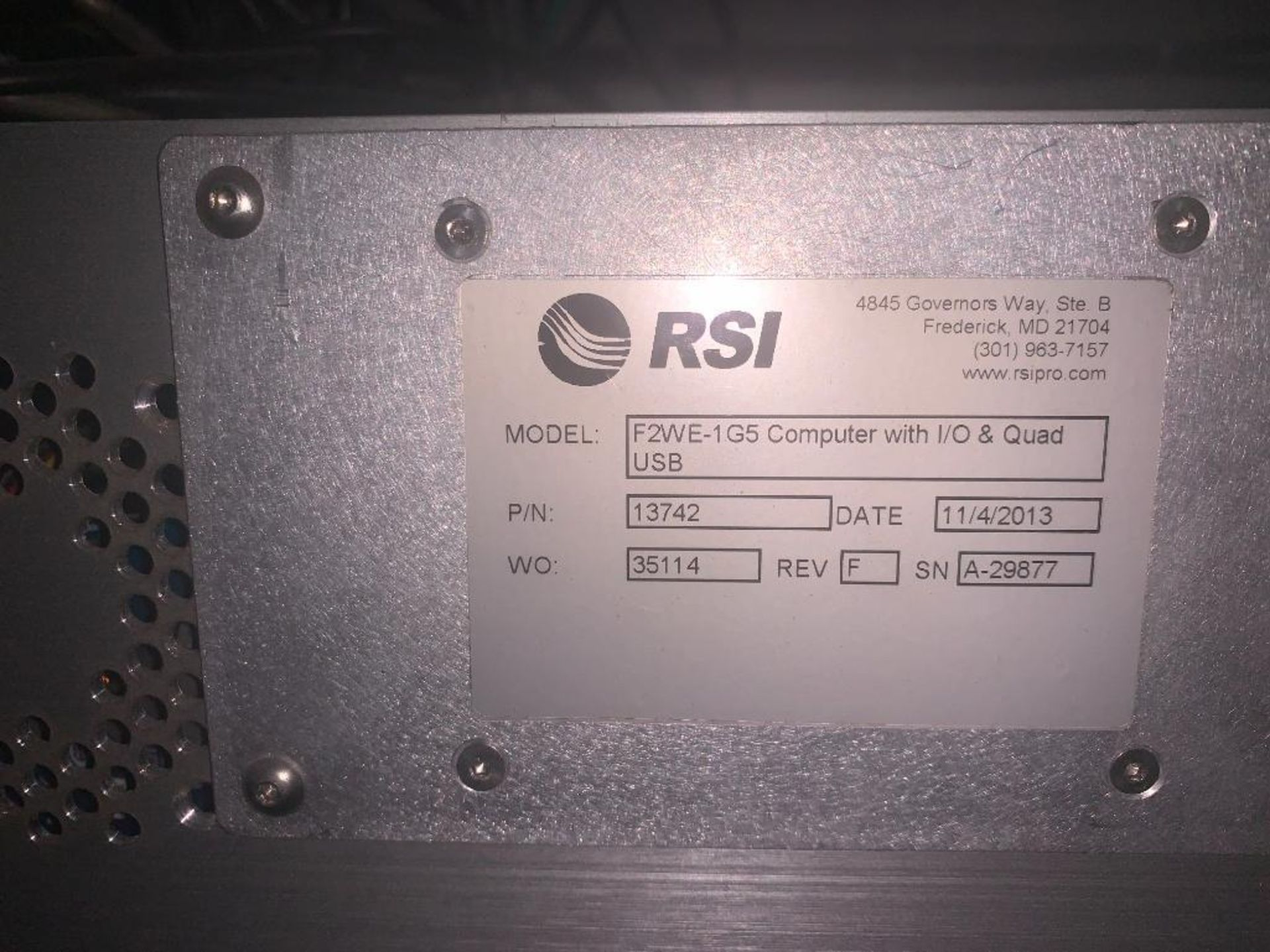 stainless steel pedestal control panel - Image 10 of 13