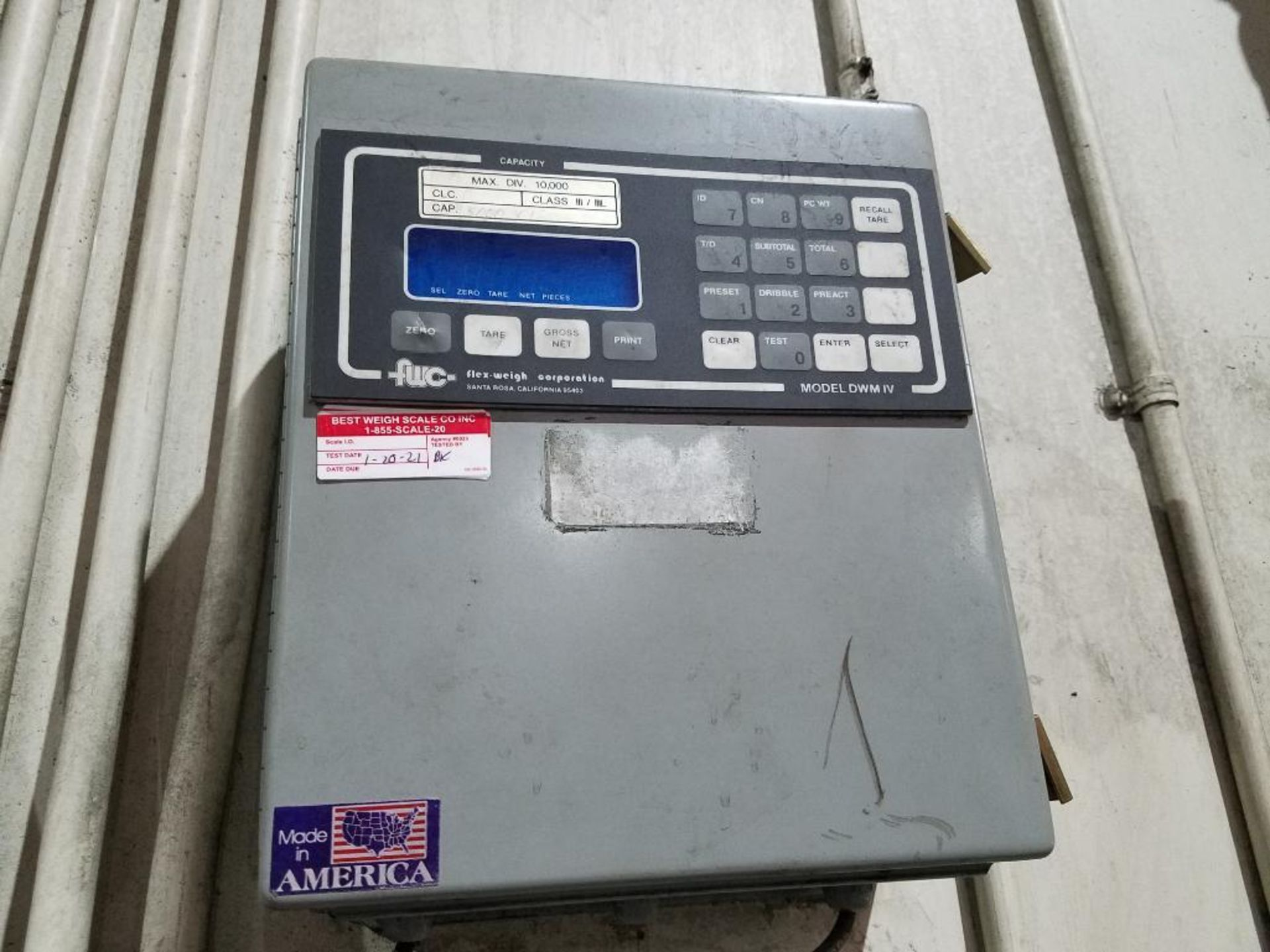 Flex-Weigh 4 ft. x 5 ft. platform scale - Image 2 of 4