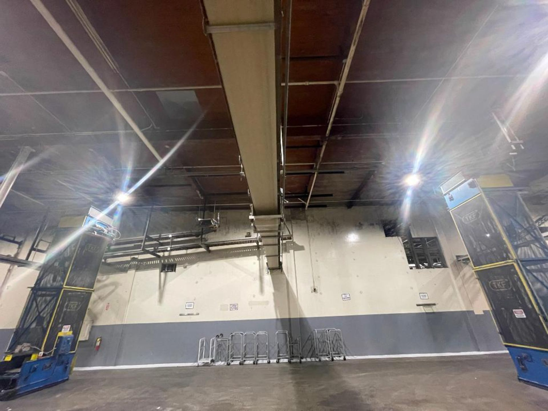 4 Aseeco mild steel conveyors - Image 10 of 14