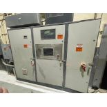 3-door cabinet with PLC and VFD's