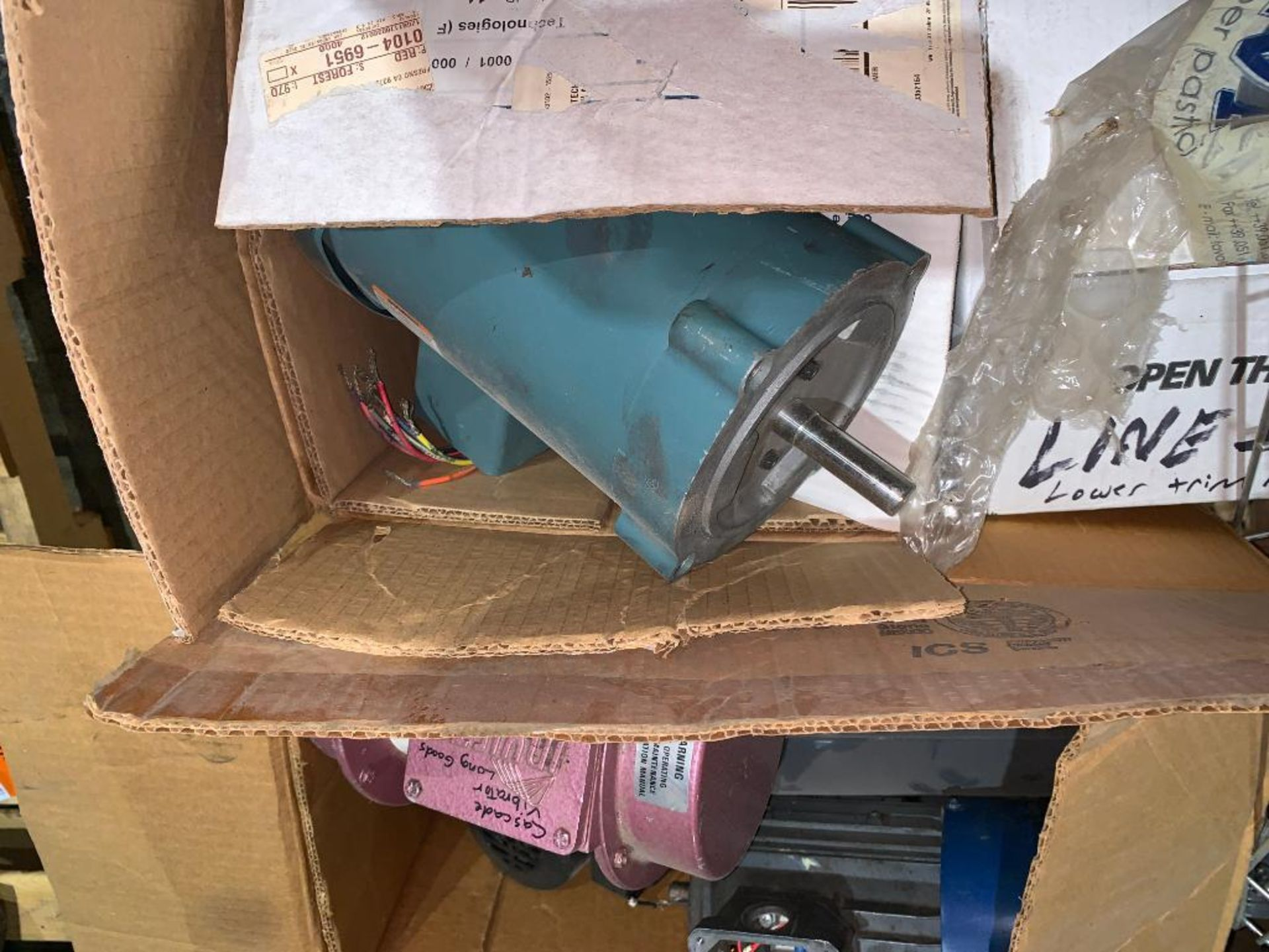 pallet of used motors and drives - Image 3 of 13
