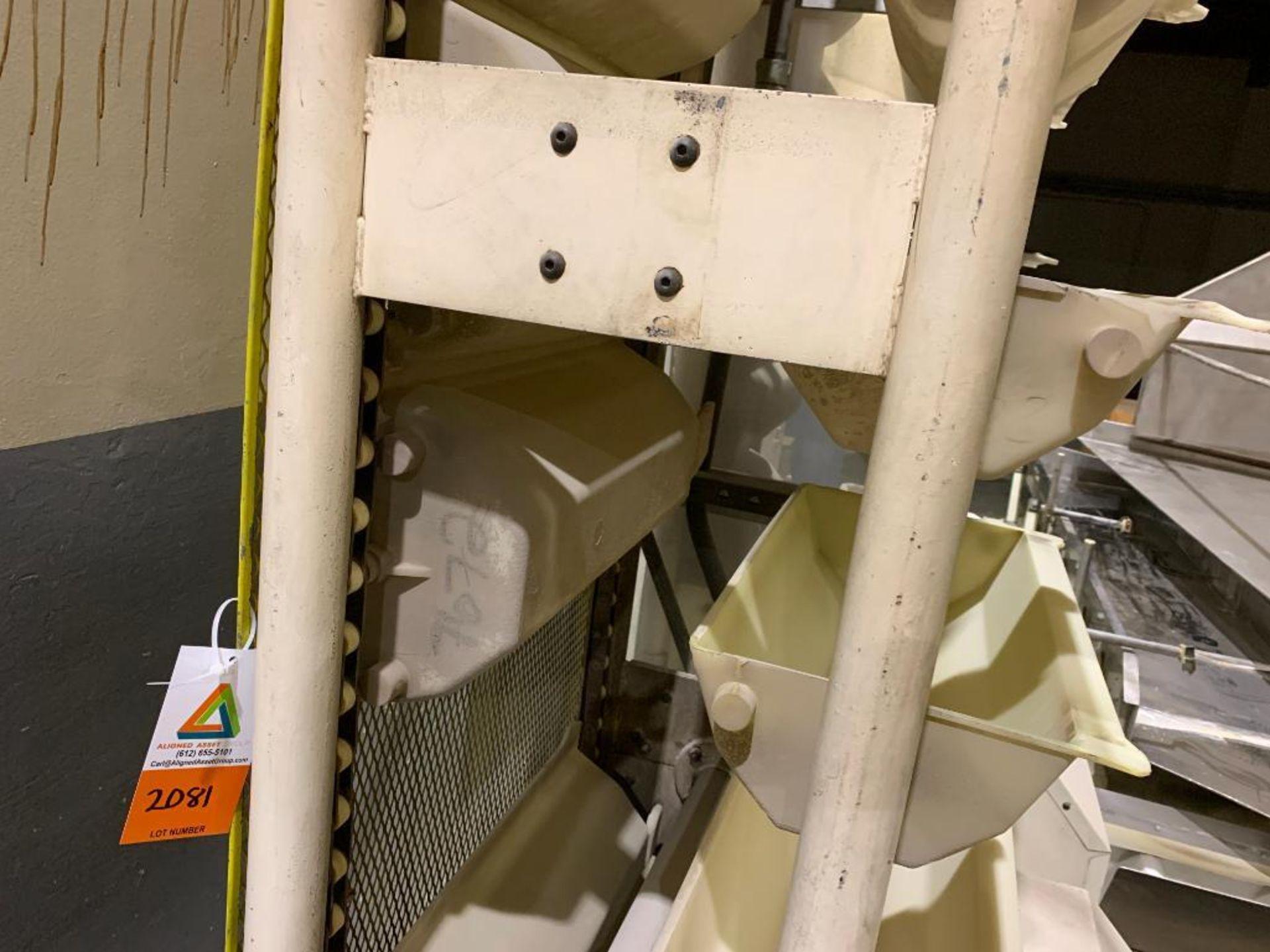 1990 Aseeco horizontal bucket elevator, model ALH-0-24 - Image 9 of 12