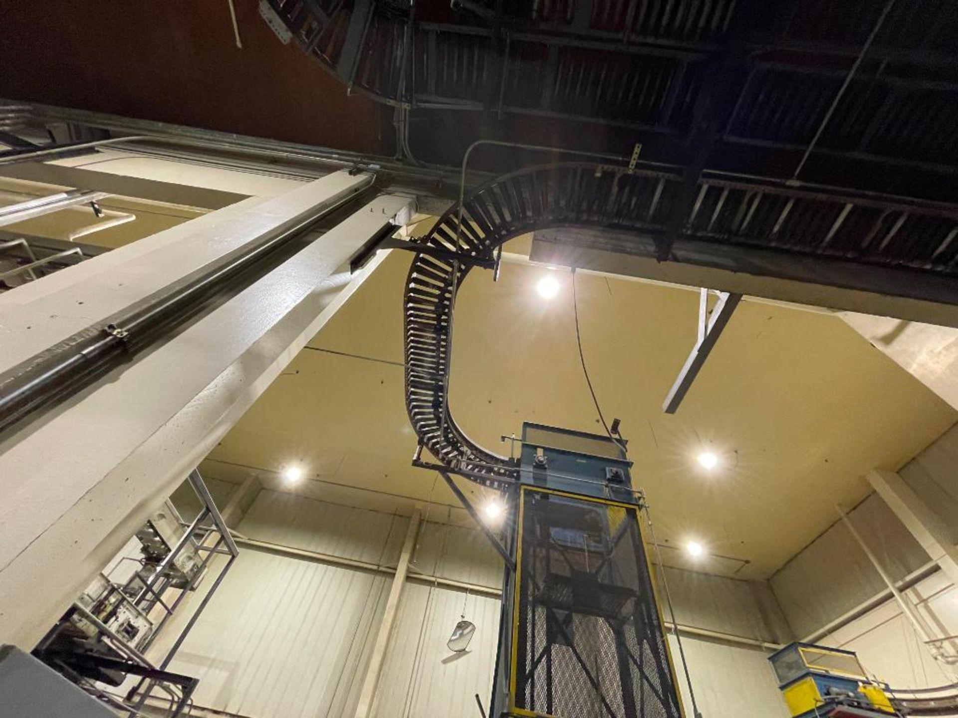 overhead power case conveyor - Image 5 of 5
