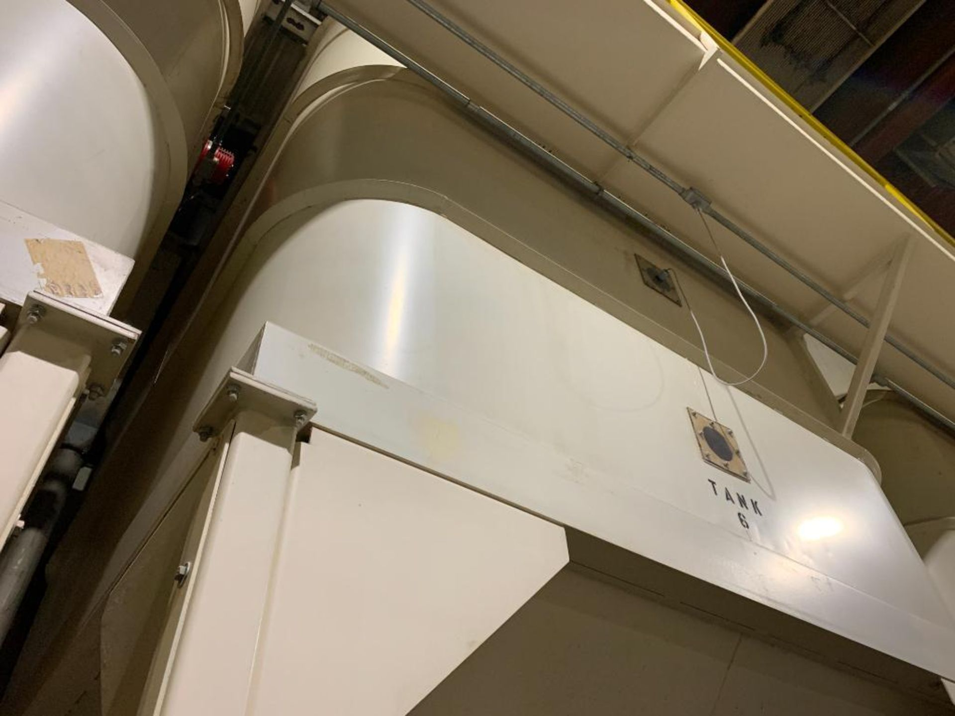 Aseeco mild steel cone bottom bulk storage bin - Image 15 of 27