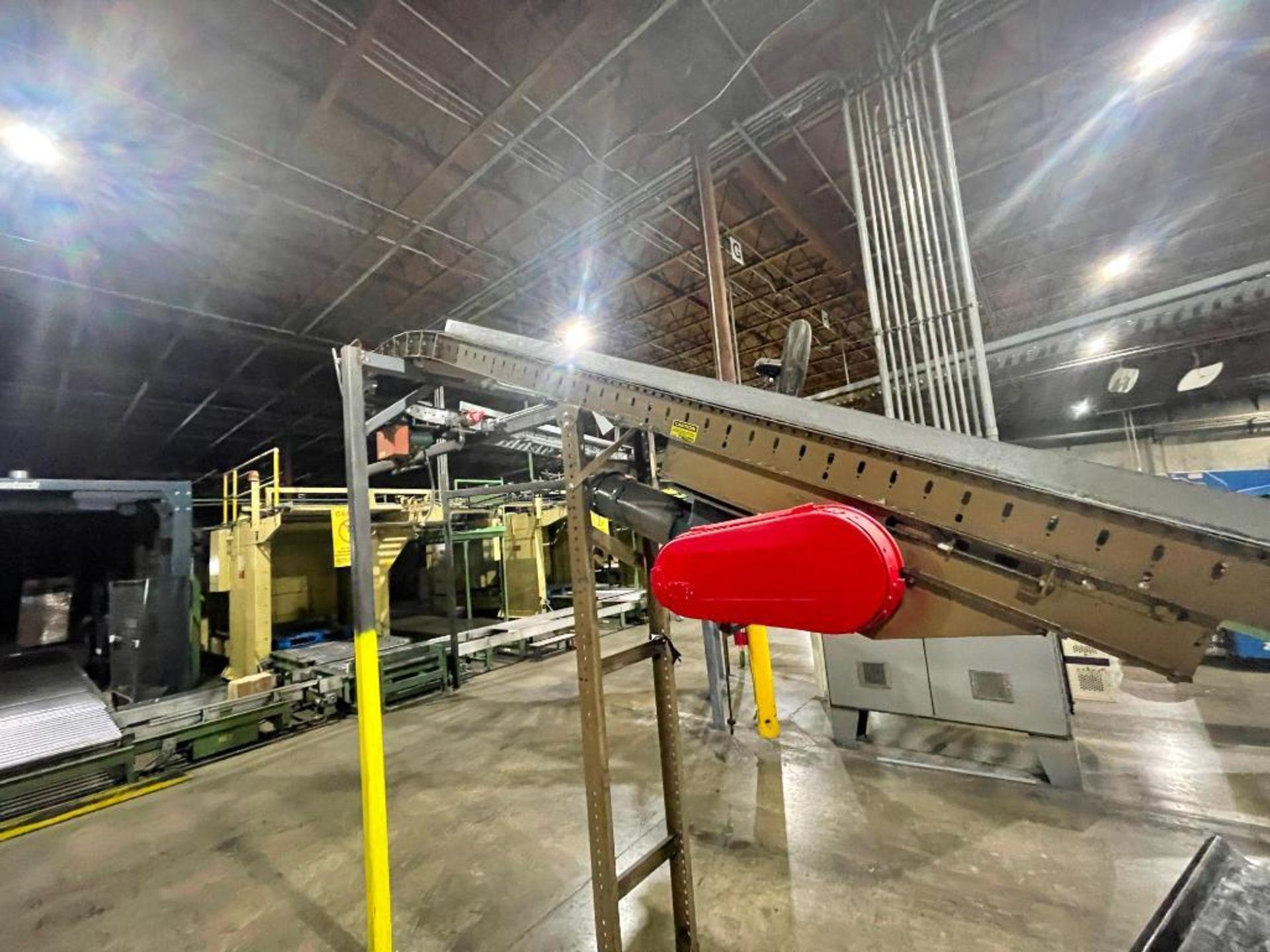 Buschman mild steel incline conveyor - Image 11 of 11
