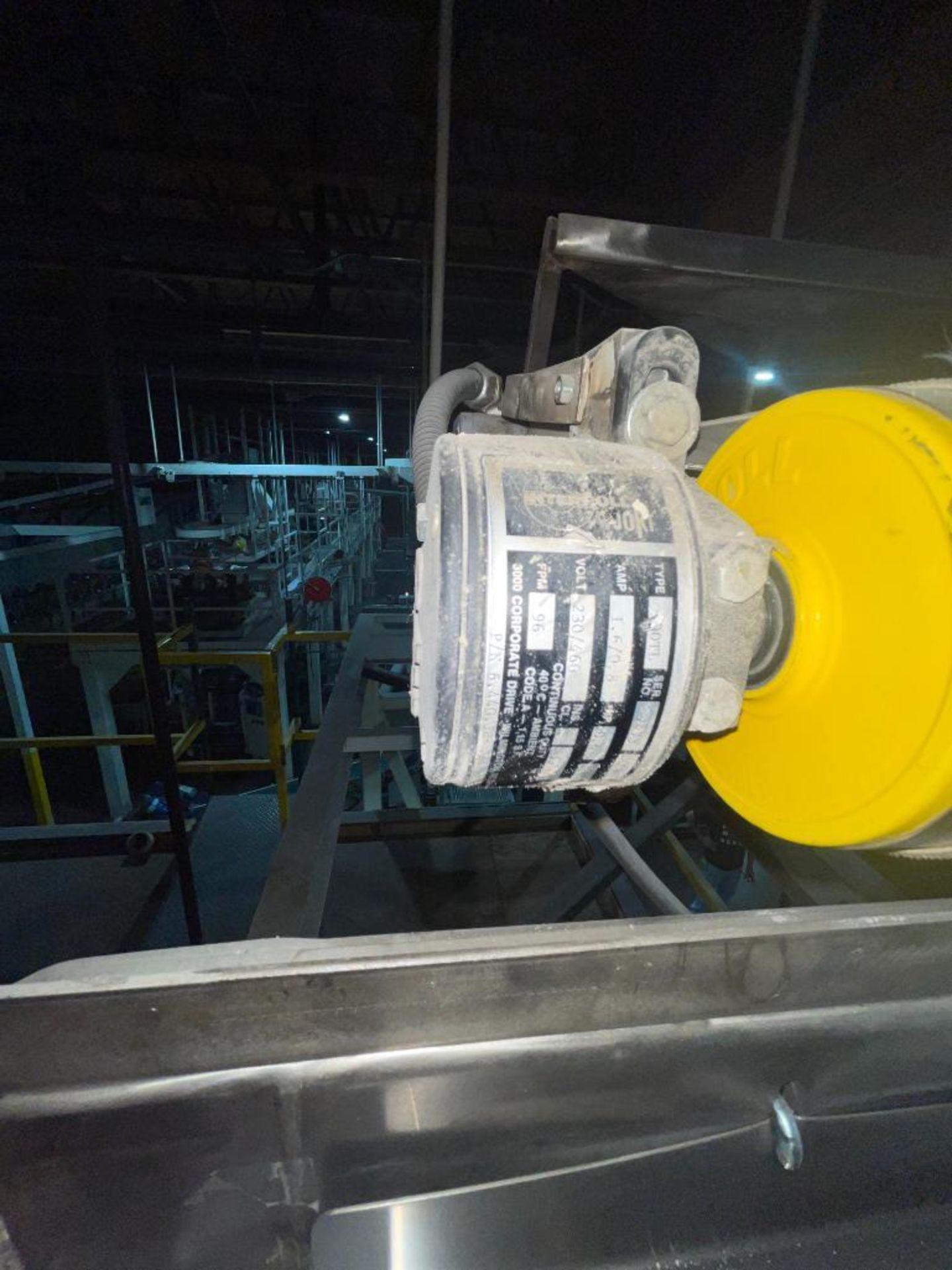 mild steel overhead belt conveyor - Image 4 of 10