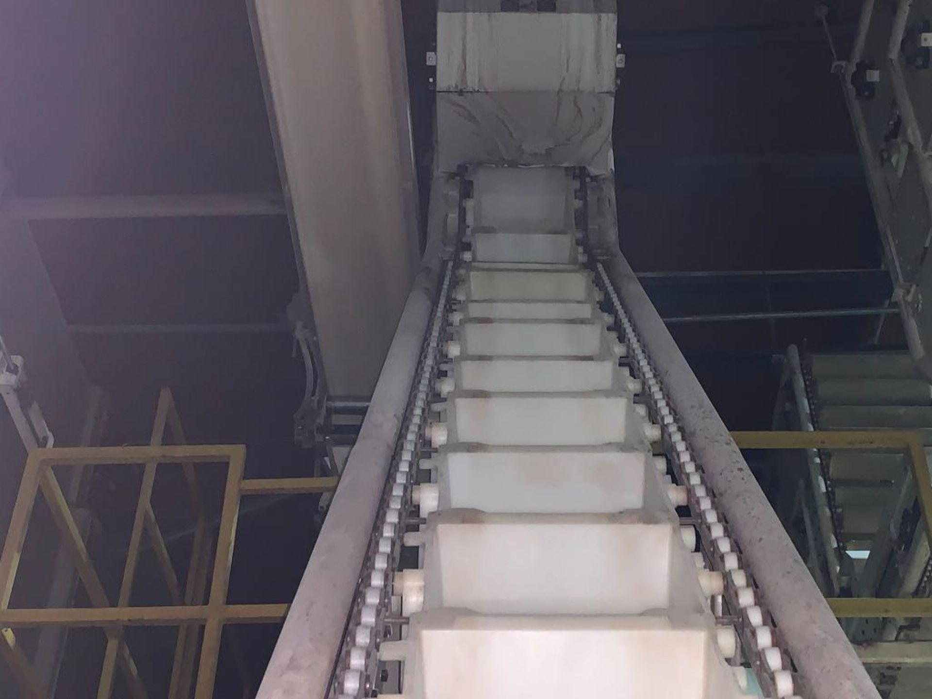 1992 Aseeco overlapping bucket incline conveyor, model ALH-0-12, Z-shape - Image 10 of 14
