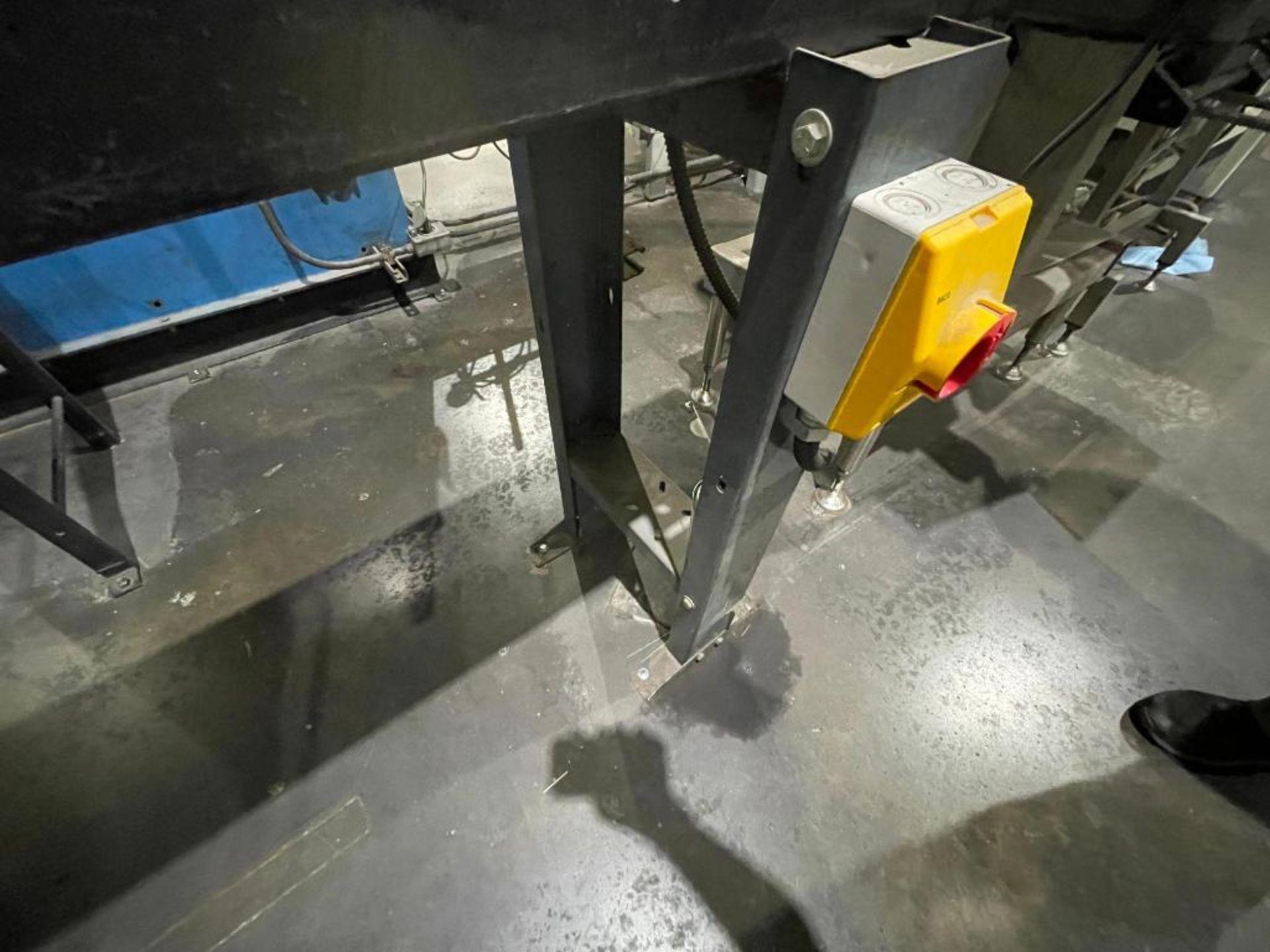 rubber belt conveyor - Image 6 of 7