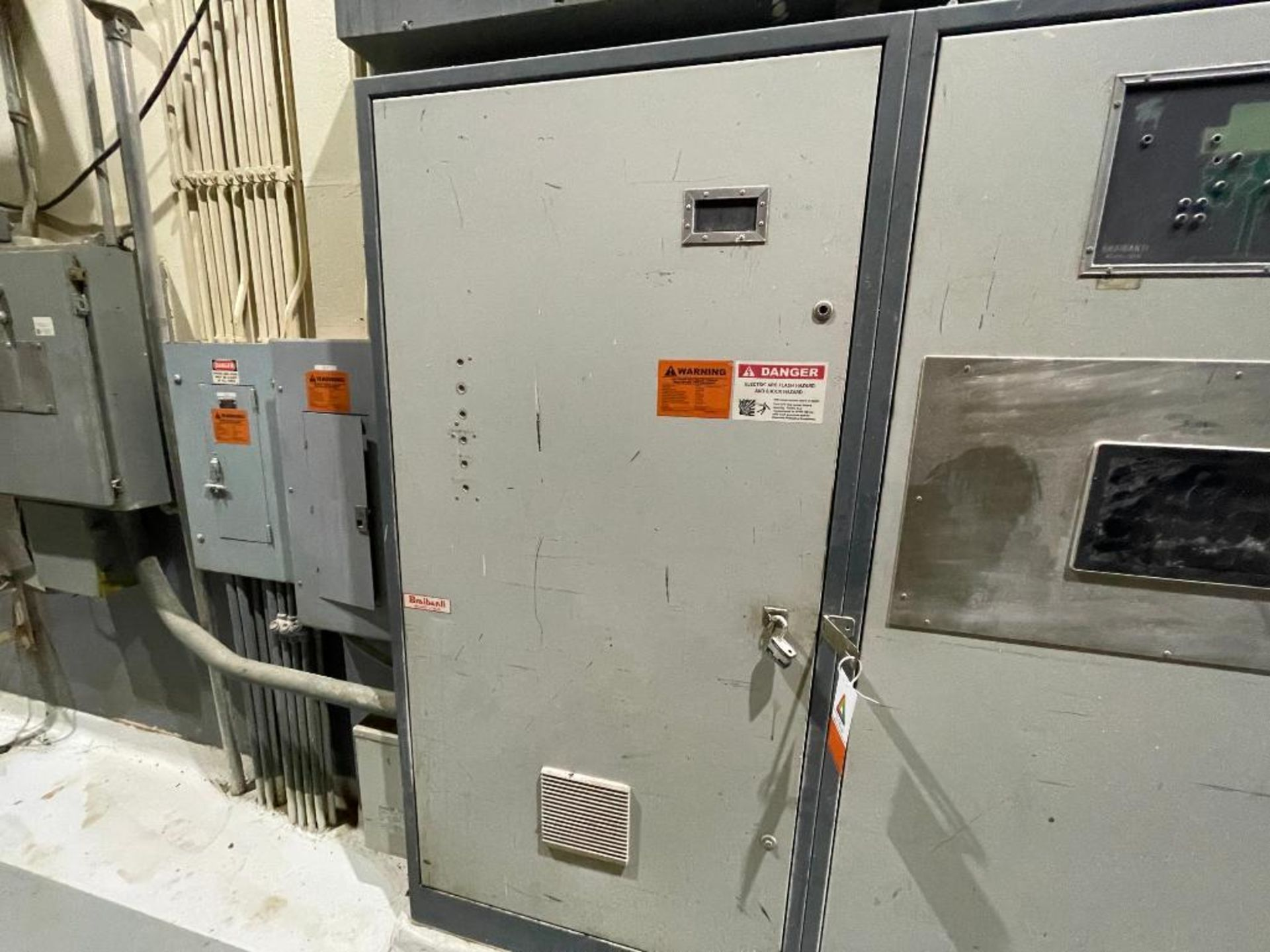 3-door cabinet with PLC and VFD's - Image 2 of 20