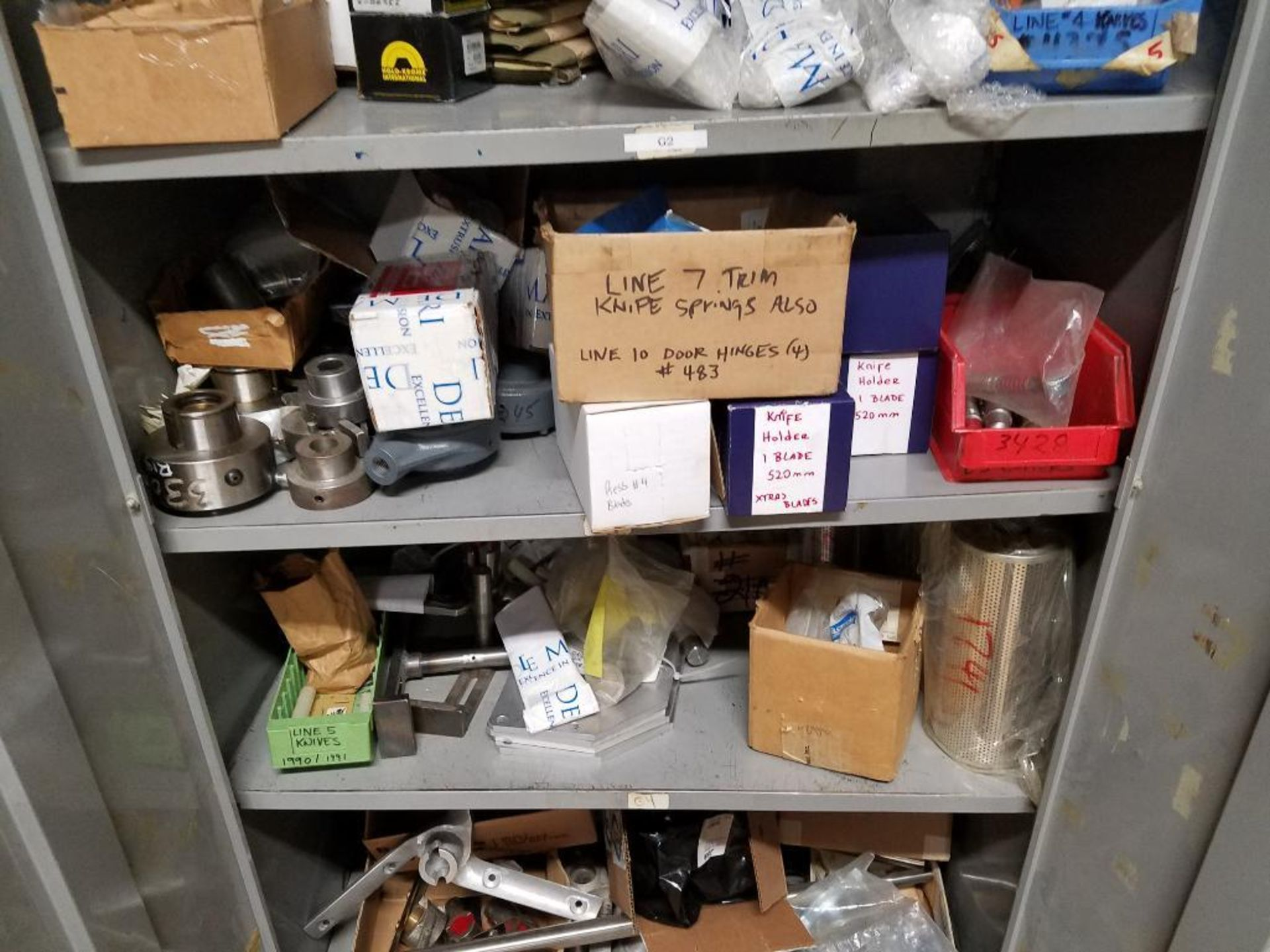 various replacement parts, conveyor belts, electrical components, gears and gauges - Image 5 of 21