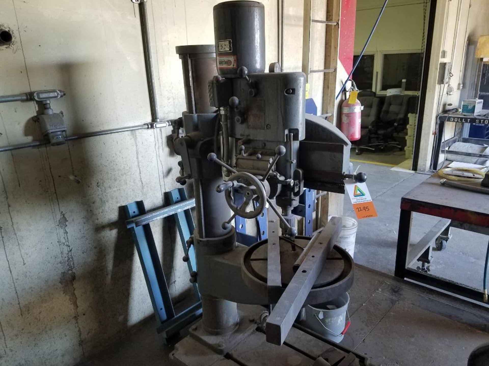 Abarboga Maskiner radial arm drill - Image 2 of 5