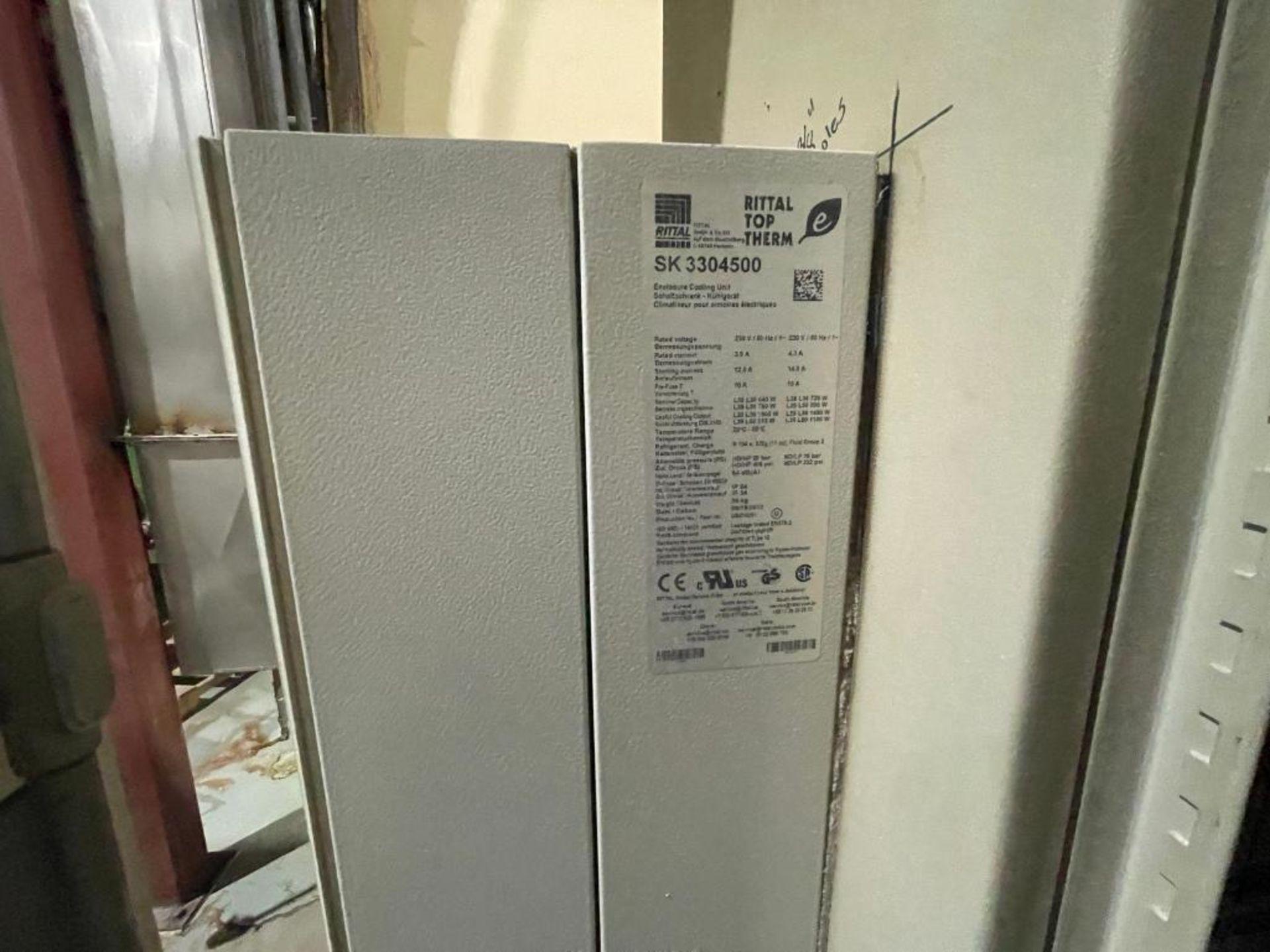 7-door mild steel air conditioned control cabinet, 5-VFD's - Image 3 of 43