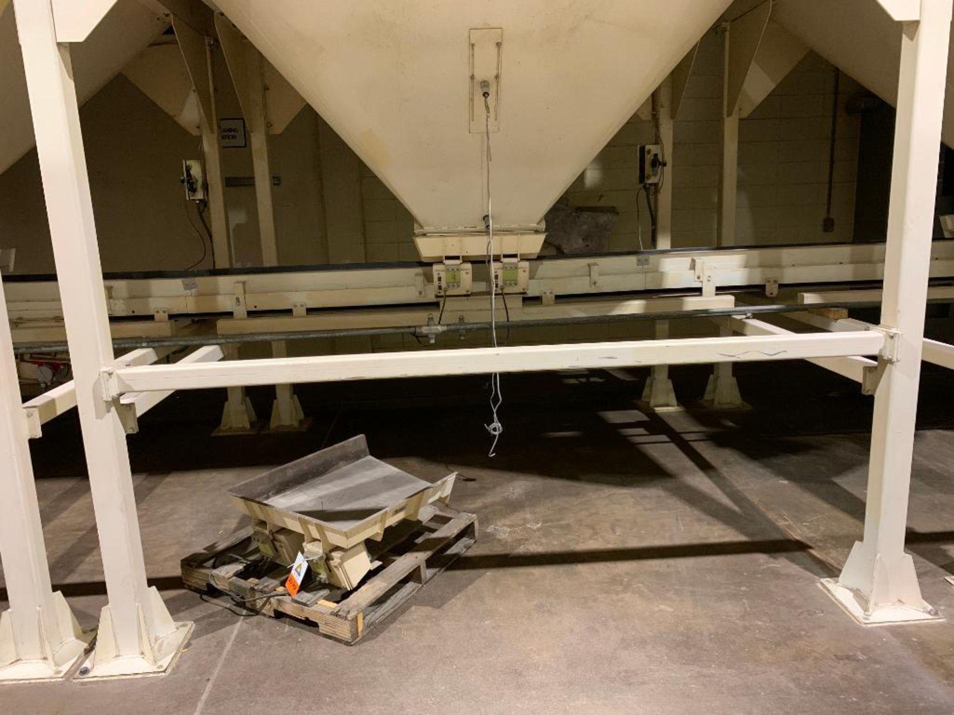 Aseeco mild steel cone bottom bulk storage bin - Image 3 of 23