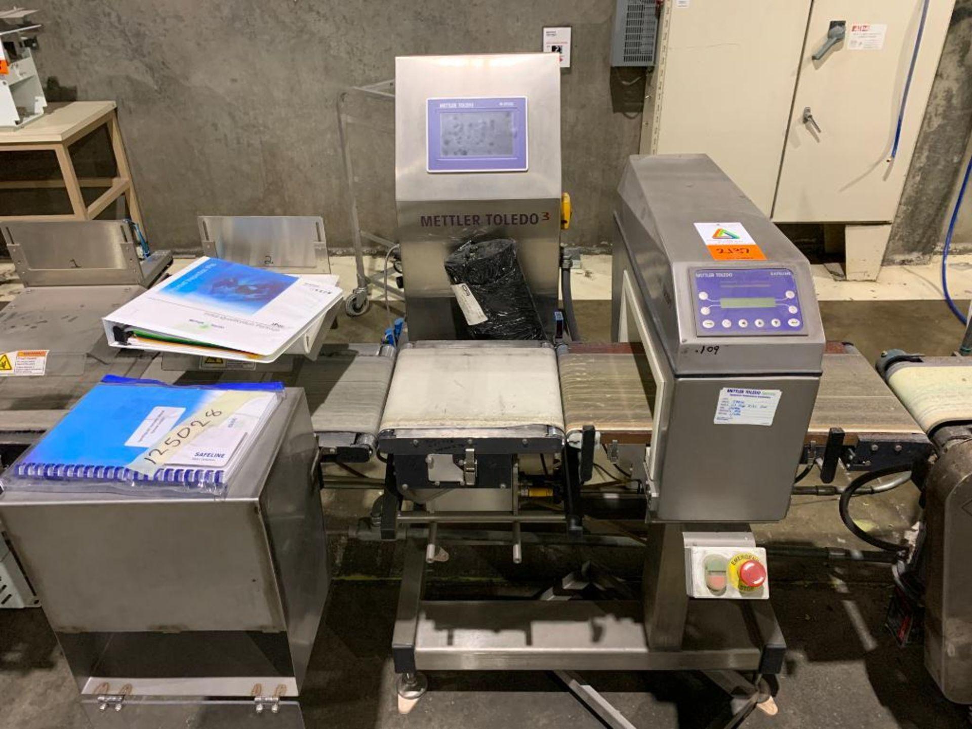 Mettler Toledo CombiChecker combination metal detector and checkweigher, model XE3